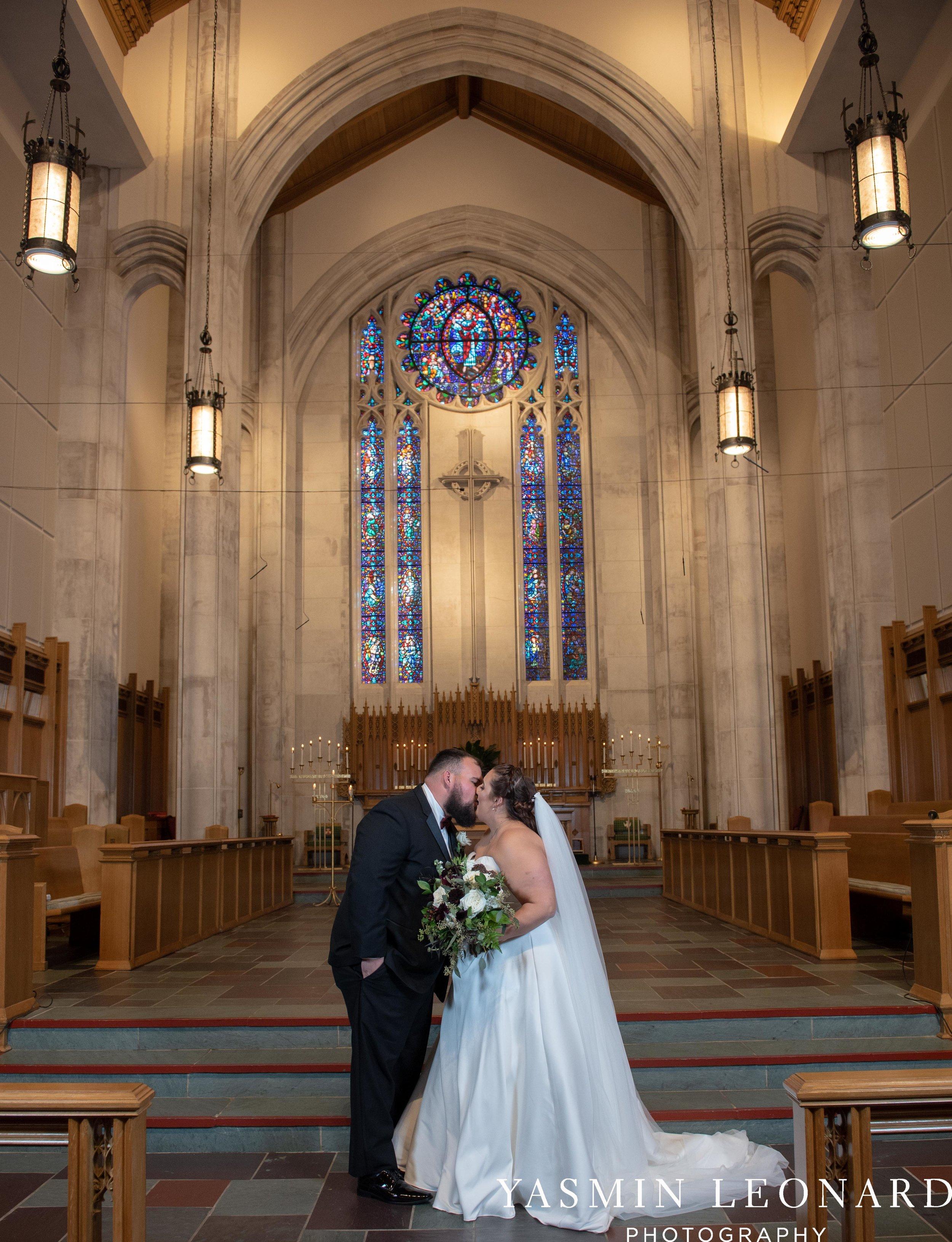 Wesley Memorial United Methodist Church - Old Homeplace Winery - High Point Weddings - High Point Wedding Photographer - NC Weddings - NC Barn Venue - Yasmin Leonard Photography-23.jpg