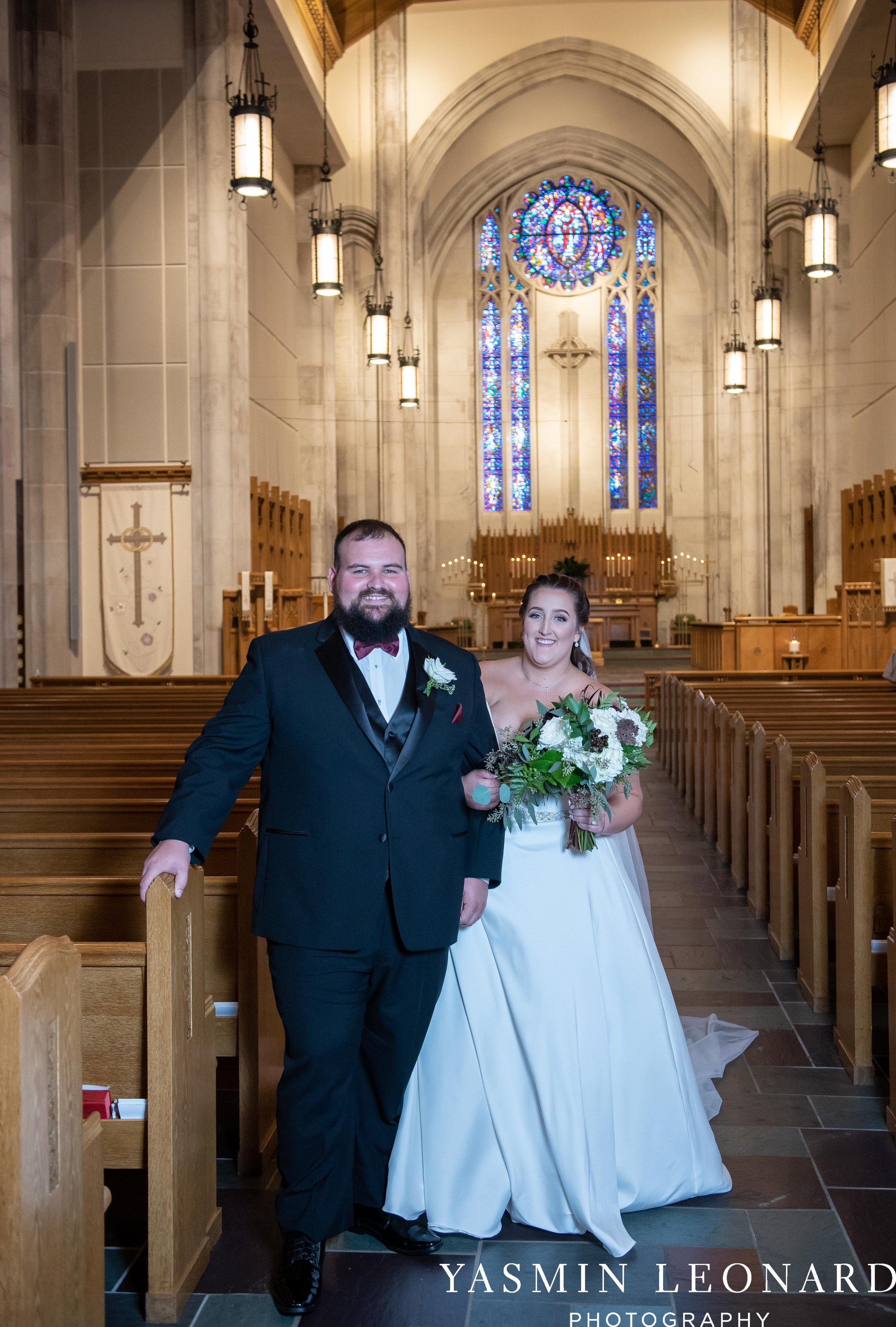 Wesley Memorial United Methodist Church - Old Homeplace Winery - High Point Weddings - High Point Wedding Photographer - NC Weddings - NC Barn Venue - Yasmin Leonard Photography-24.jpg