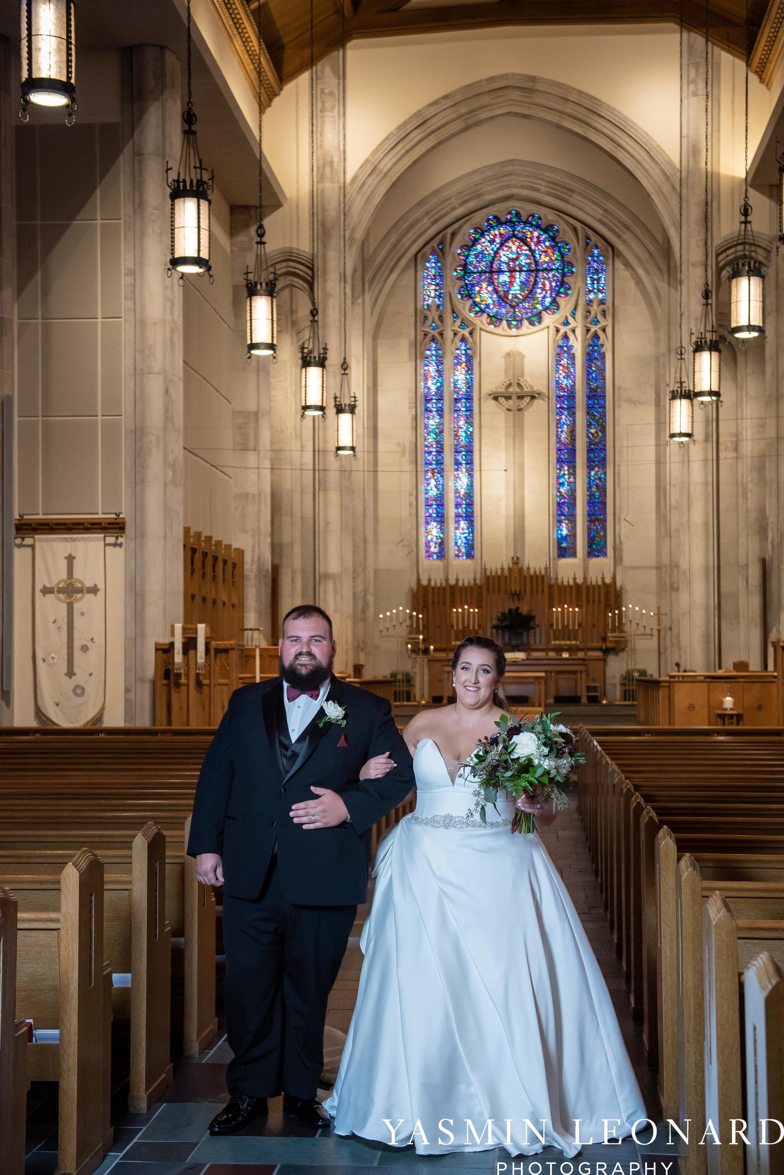 Wesley Memorial United Methodist Church - Old Homeplace Winery - High Point Weddings - High Point Wedding Photographer - NC Weddings - NC Barn Venue - Yasmin Leonard Photography-25.jpg