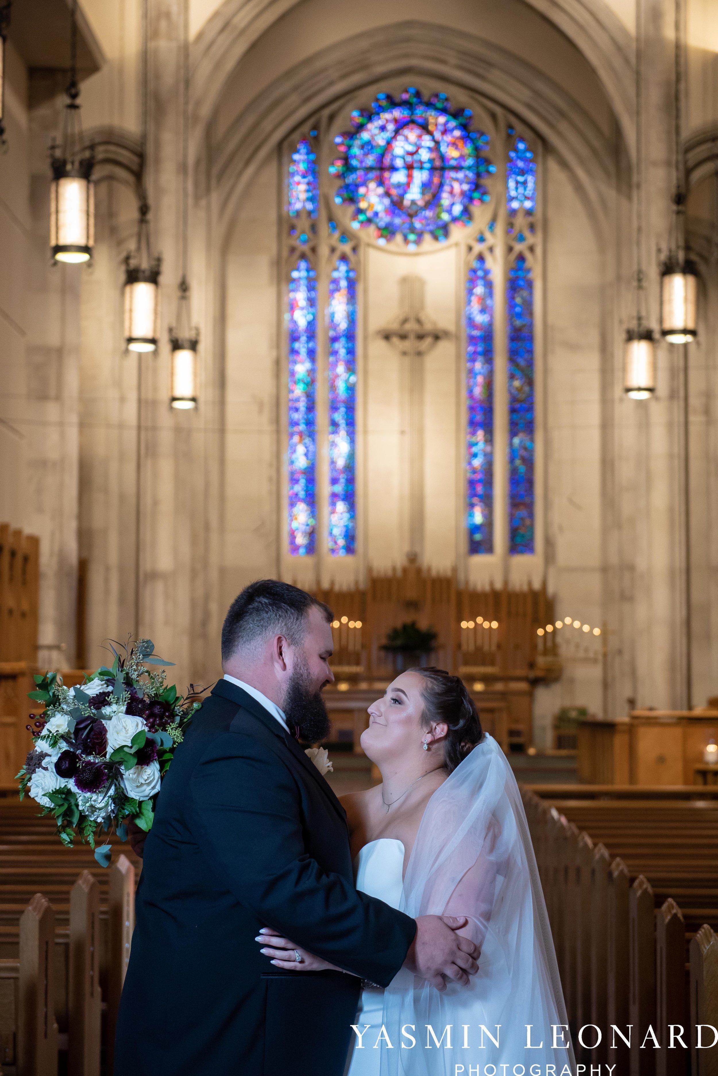 Wesley Memorial United Methodist Church - Old Homeplace Winery - High Point Weddings - High Point Wedding Photographer - NC Weddings - NC Barn Venue - Yasmin Leonard Photography-26.jpg
