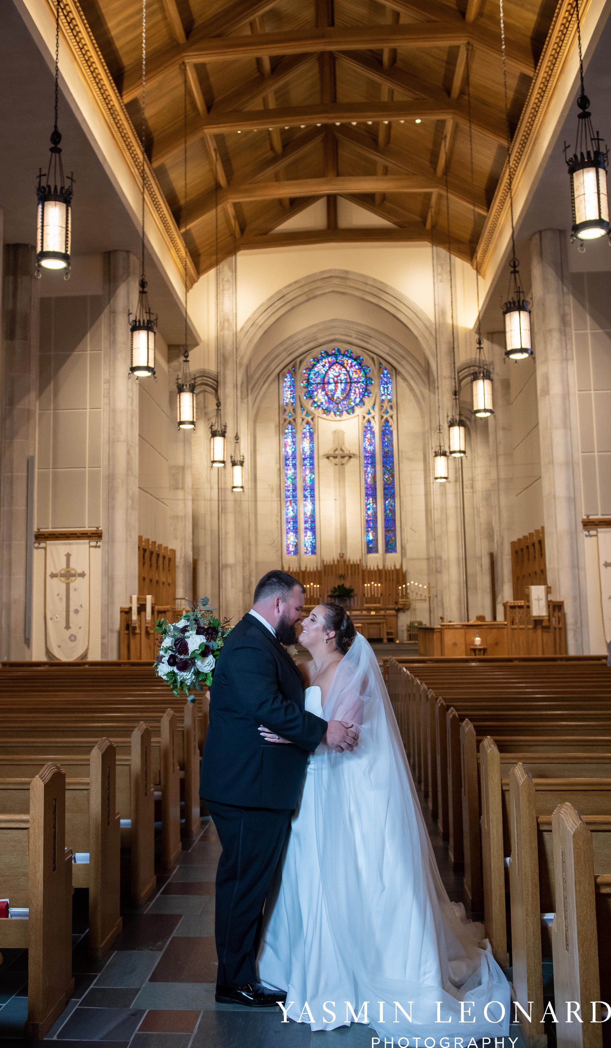 Wesley Memorial United Methodist Church - Old Homeplace Winery - High Point Weddings - High Point Wedding Photographer - NC Weddings - NC Barn Venue - Yasmin Leonard Photography-27.jpg