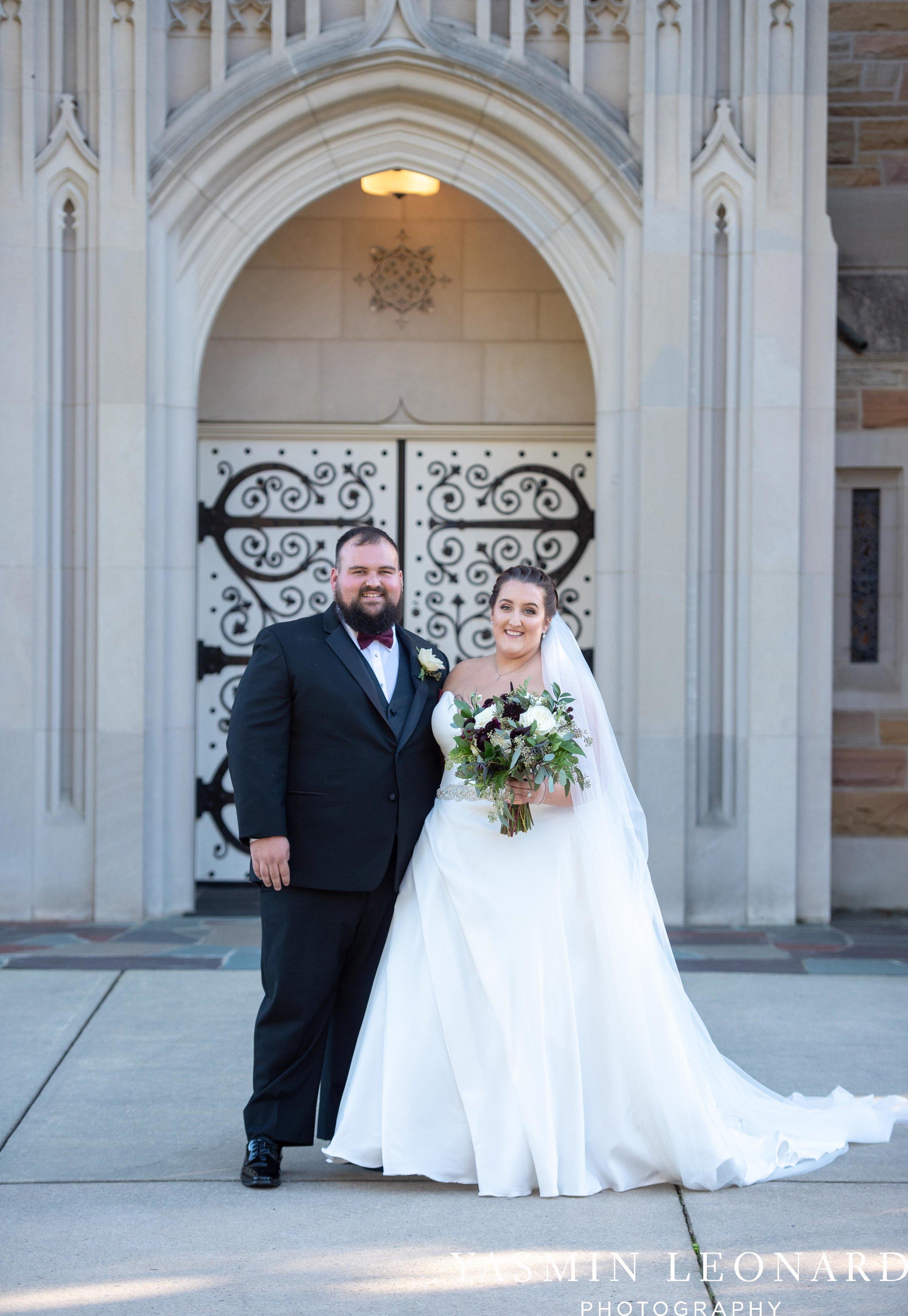Wesley Memorial United Methodist Church - Old Homeplace Winery - High Point Weddings - High Point Wedding Photographer - NC Weddings - NC Barn Venue - Yasmin Leonard Photography-28.jpg