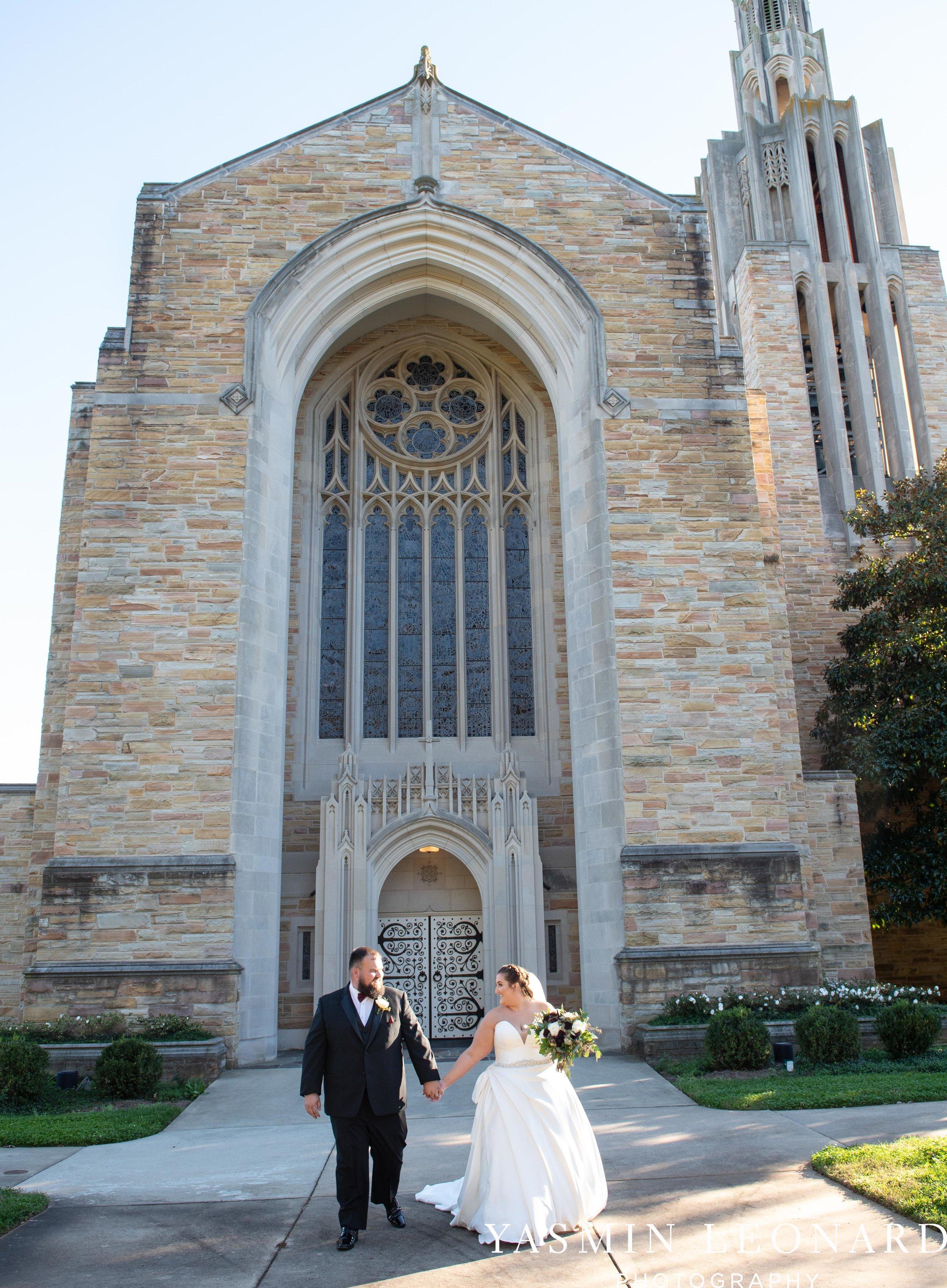 Wesley Memorial United Methodist Church - Old Homeplace Winery - High Point Weddings - High Point Wedding Photographer - NC Weddings - NC Barn Venue - Yasmin Leonard Photography-30.jpg