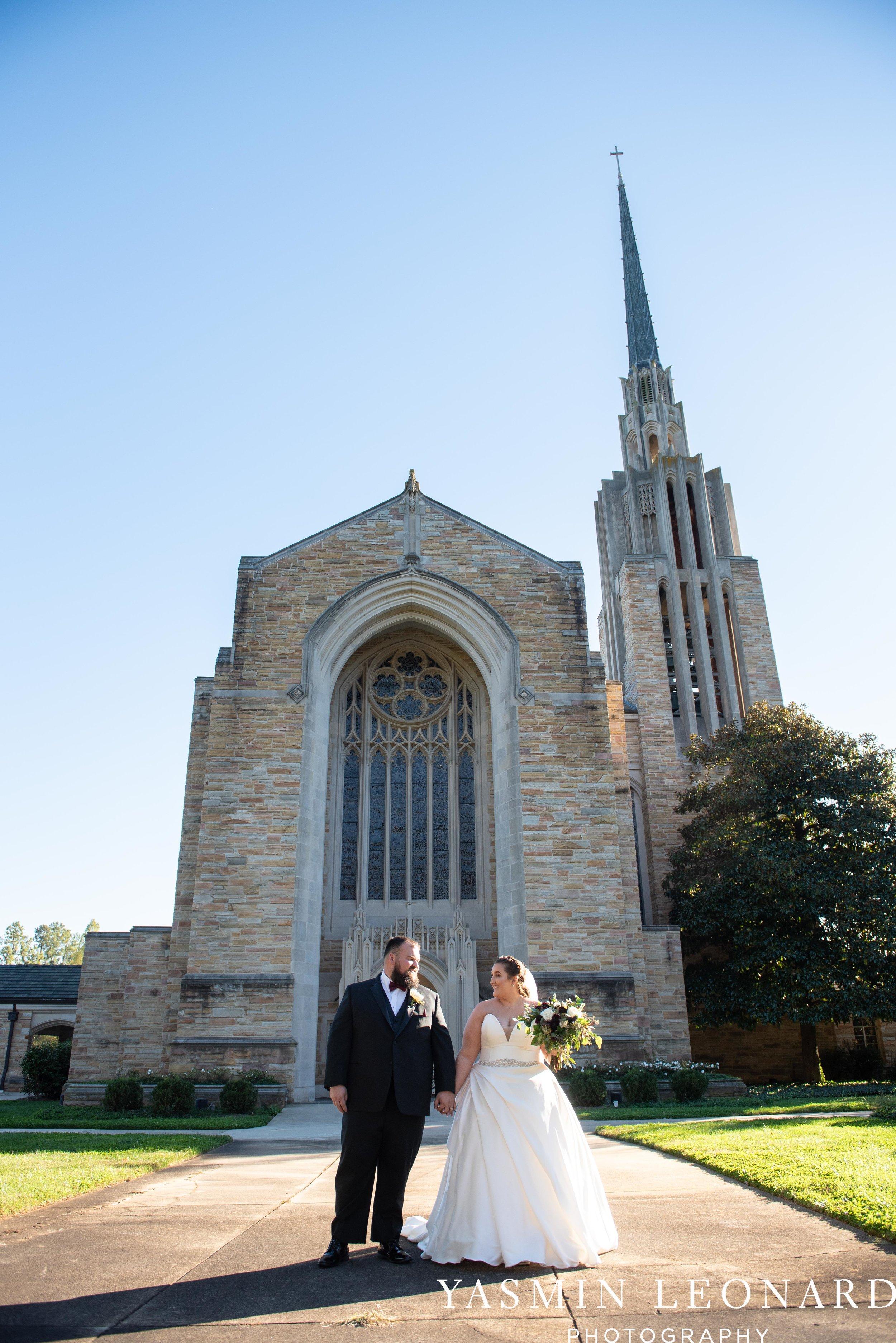 Wesley Memorial United Methodist Church - Old Homeplace Winery - High Point Weddings - High Point Wedding Photographer - NC Weddings - NC Barn Venue - Yasmin Leonard Photography-31.jpg