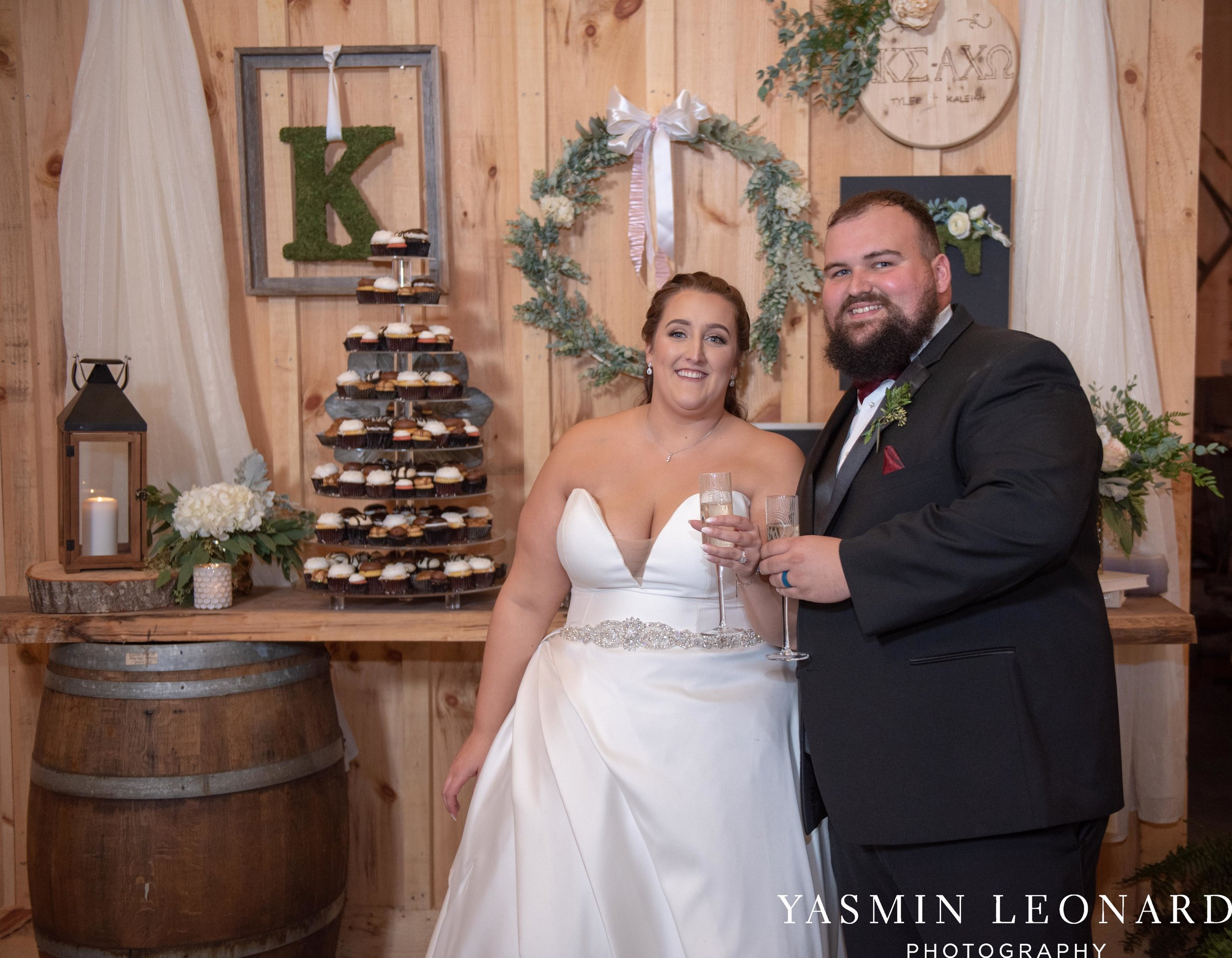 Wesley Memorial United Methodist Church - Old Homeplace Winery - High Point Weddings - High Point Wedding Photographer - NC Weddings - NC Barn Venue - Yasmin Leonard Photography-71.jpg