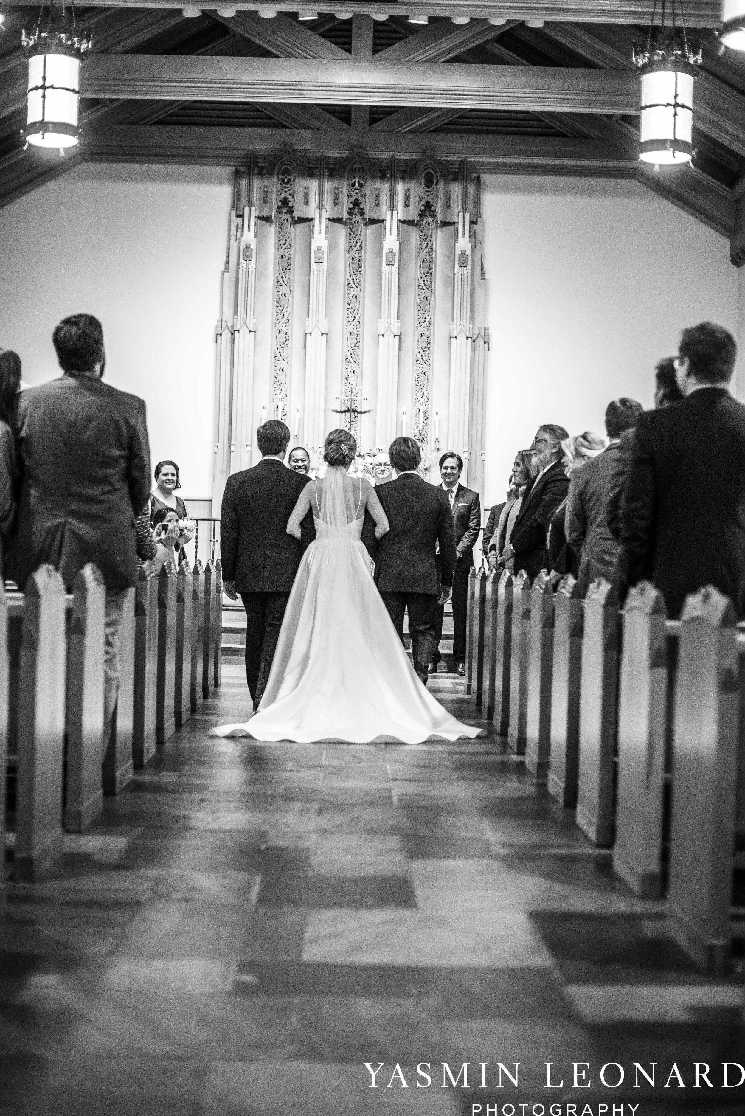Wesley Memorial United Methodist Church - EmeryWood - High Point Weddings - High Point Wedding Photographer - NC Wedding Photographer - Yasmin Leonard Photography-19.jpg