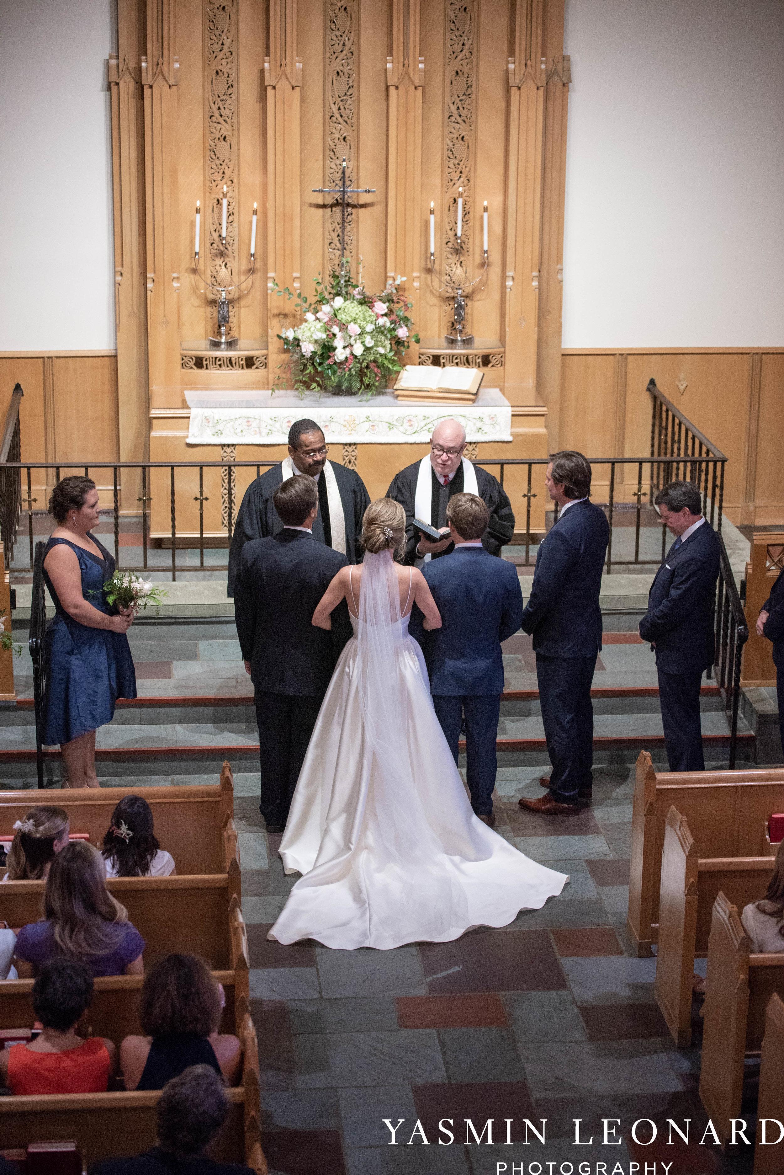 Wesley Memorial United Methodist Church - EmeryWood - High Point Weddings - High Point Wedding Photographer - NC Wedding Photographer - Yasmin Leonard Photography-20.jpg
