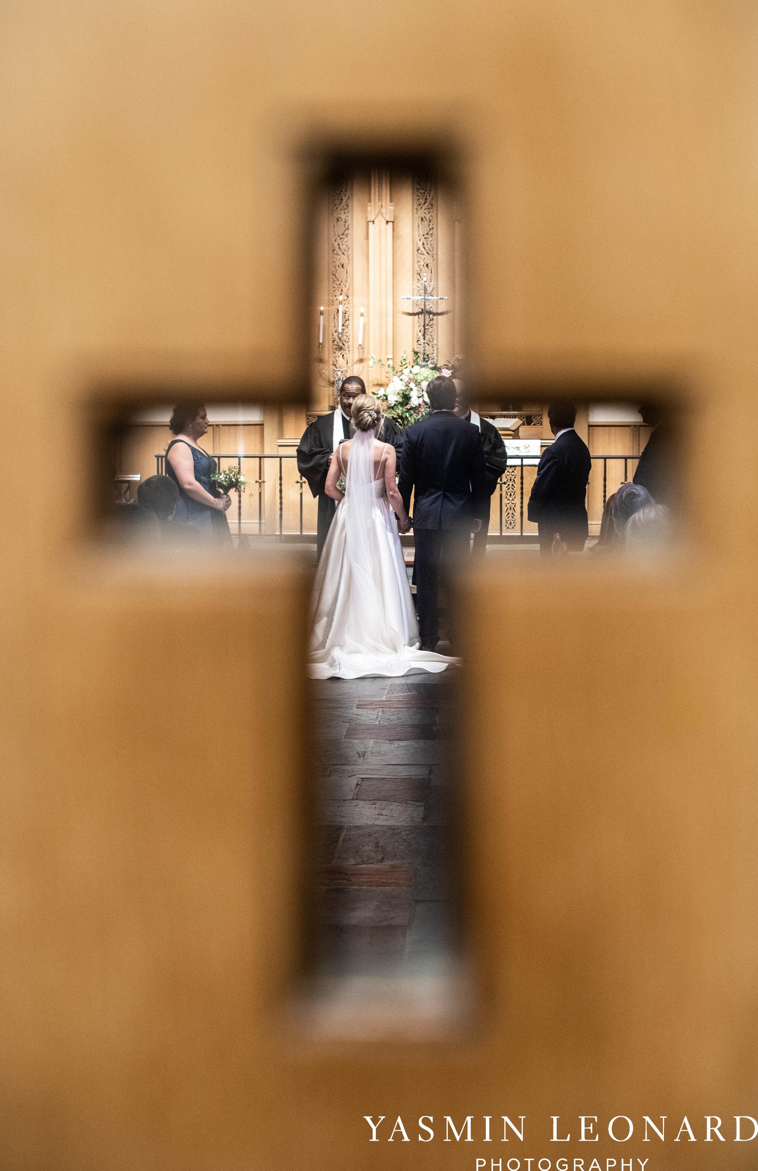 Wesley Memorial United Methodist Church - EmeryWood - High Point Weddings - High Point Wedding Photographer - NC Wedding Photographer - Yasmin Leonard Photography-21.jpg
