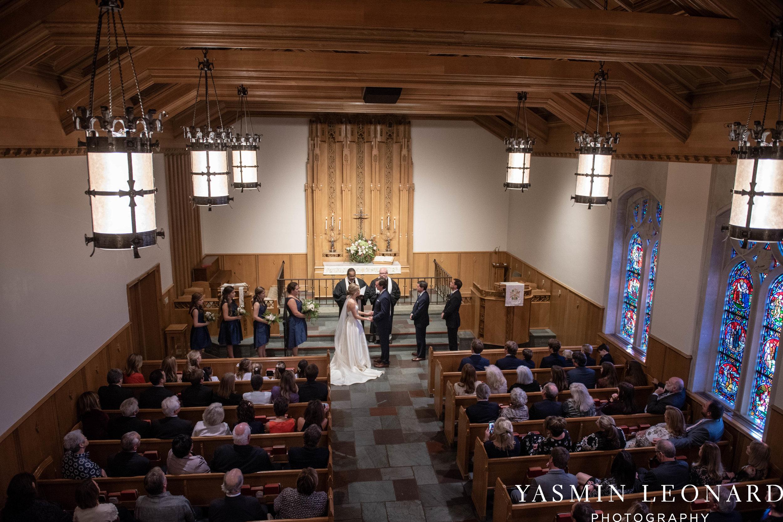 Wesley Memorial United Methodist Church - EmeryWood - High Point Weddings - High Point Wedding Photographer - NC Wedding Photographer - Yasmin Leonard Photography-22.jpg