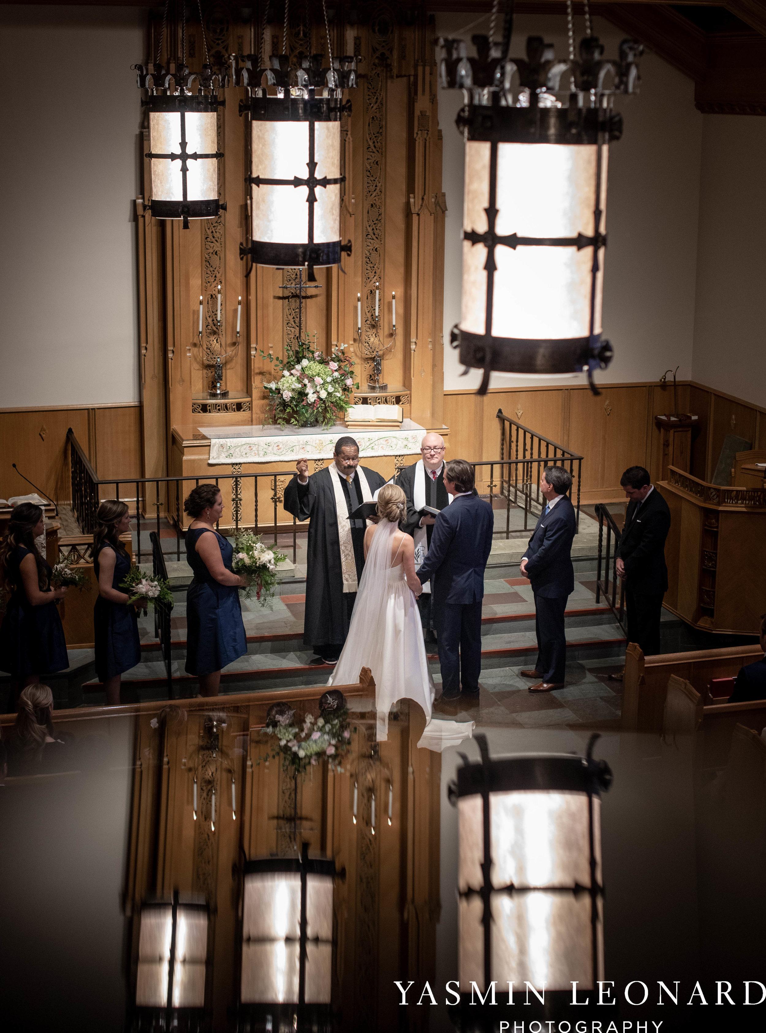 Wesley Memorial United Methodist Church - EmeryWood - High Point Weddings - High Point Wedding Photographer - NC Wedding Photographer - Yasmin Leonard Photography-24.jpg