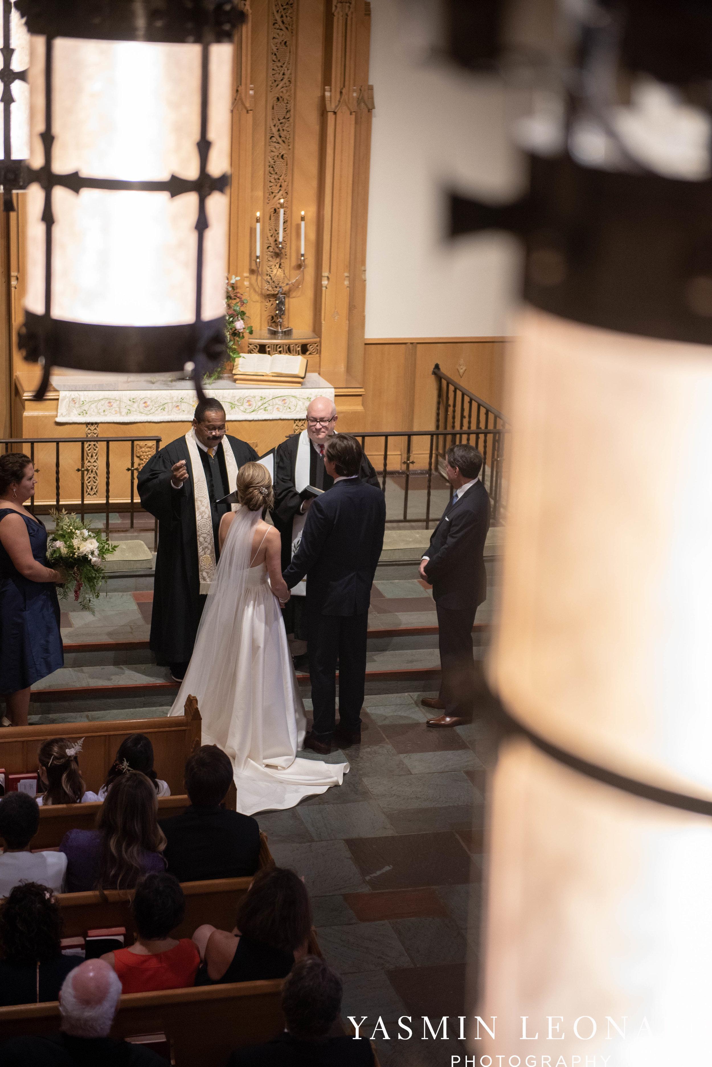 Wesley Memorial United Methodist Church - EmeryWood - High Point Weddings - High Point Wedding Photographer - NC Wedding Photographer - Yasmin Leonard Photography-25.jpg