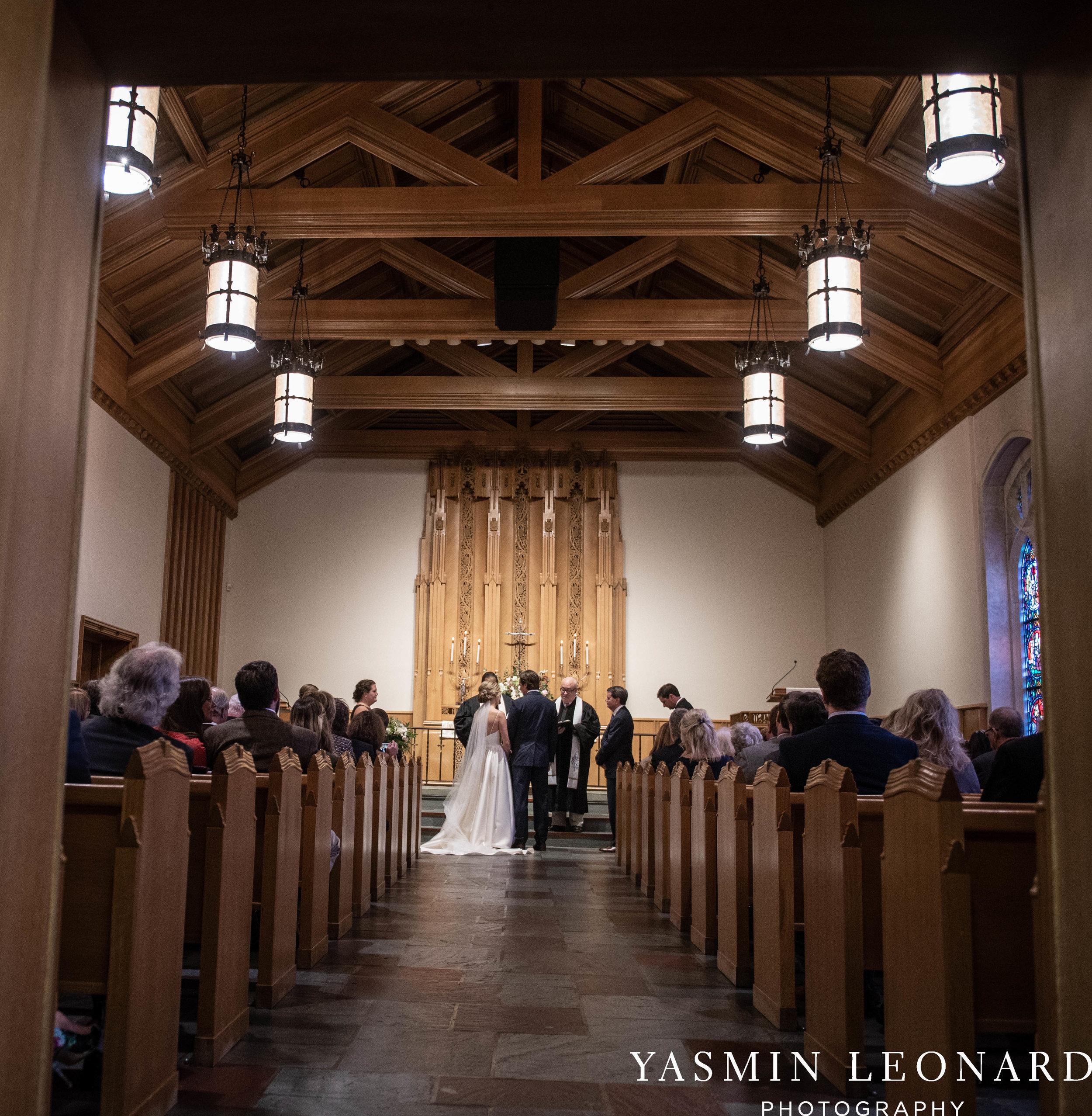 Wesley Memorial United Methodist Church - EmeryWood - High Point Weddings - High Point Wedding Photographer - NC Wedding Photographer - Yasmin Leonard Photography-27.jpg