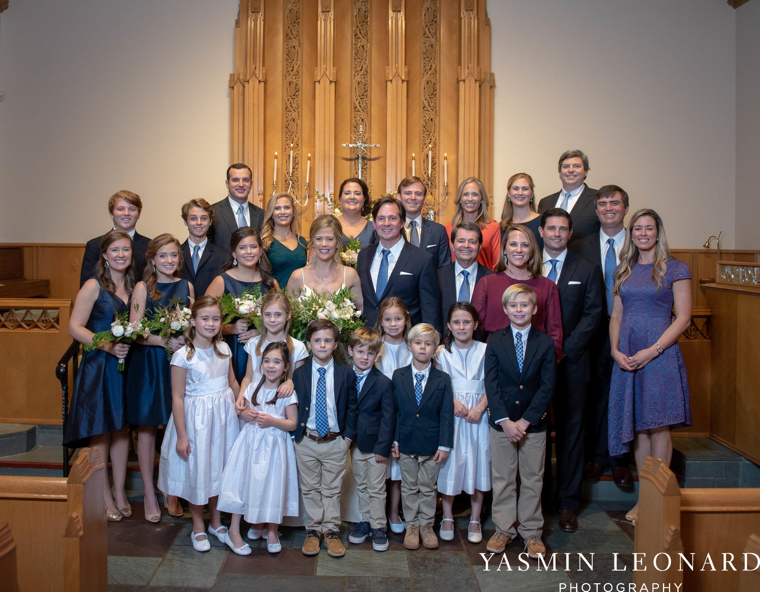 Wesley Memorial United Methodist Church - EmeryWood - High Point Weddings - High Point Wedding Photographer - NC Wedding Photographer - Yasmin Leonard Photography-31.jpg