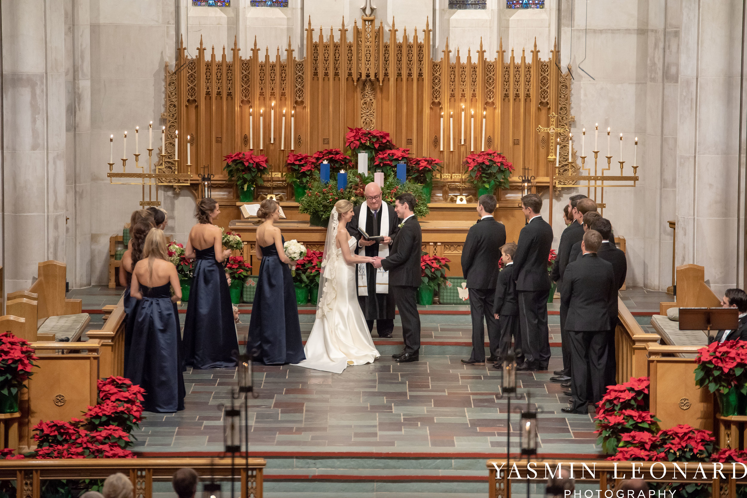 Wesley Memorial UMC - High Point Country Club - Emerywood Country Club - High Point Weddings - High Point Wedding Photographer - Yasmin Leonard Photography-16.jpg