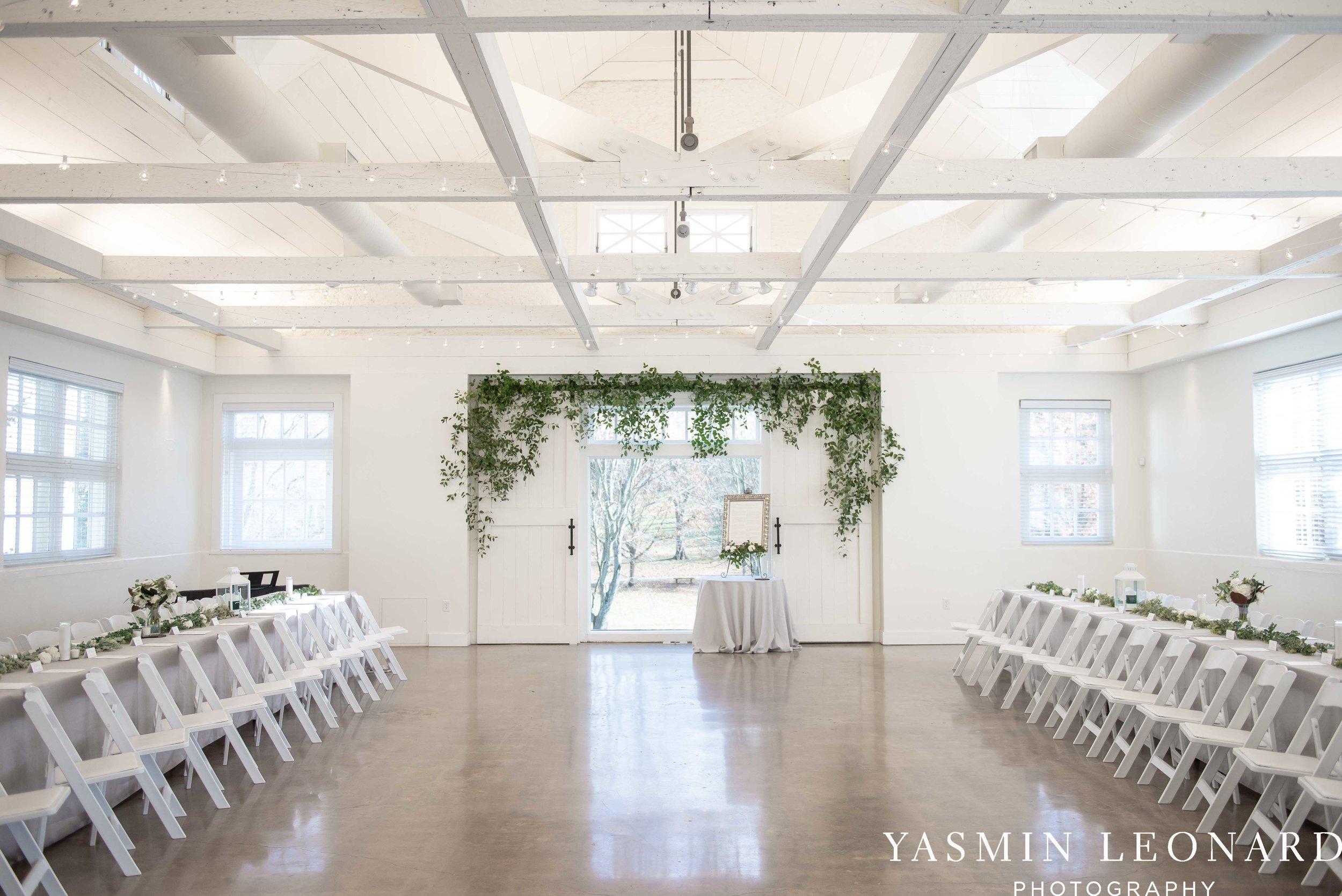 Barn at Reynolda Village - Winston Salem Wedding - White and Green Wedding - NC Wedding - NC Barns - Yasmin Leonard Photography-7.jpg