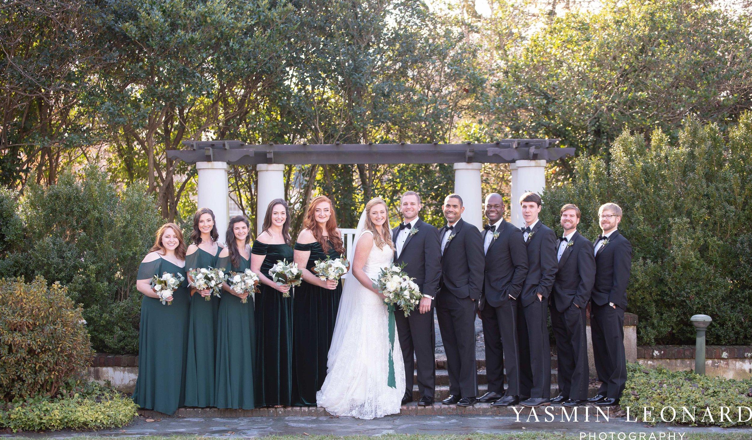 Barn at Reynolda Village - Winston Salem Wedding - White and Green Wedding - NC Wedding - NC Barns - Yasmin Leonard Photography-32.jpg