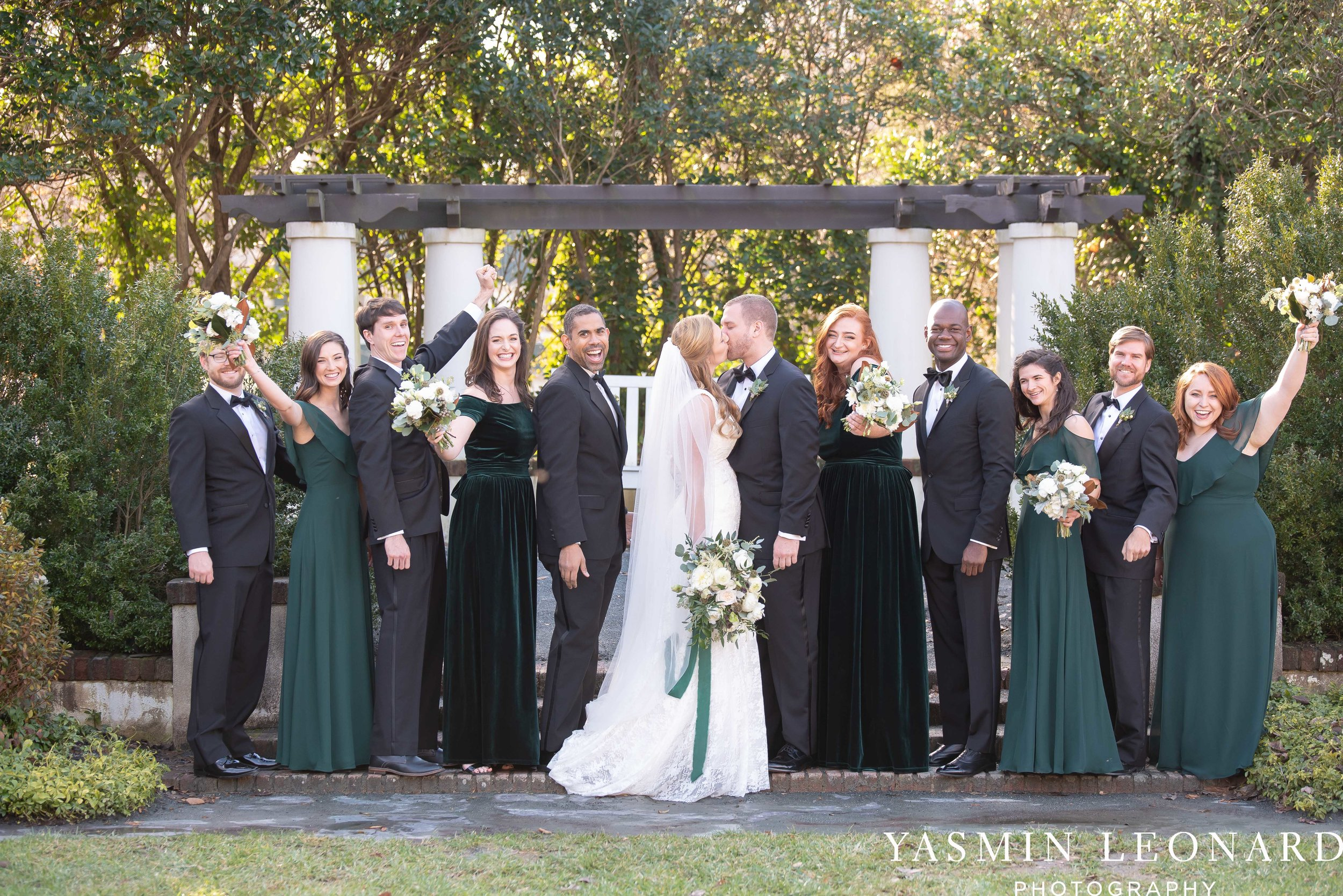 Barn at Reynolda Village - Winston Salem Wedding - White and Green Wedding - NC Wedding - NC Barns - Yasmin Leonard Photography-34.jpg