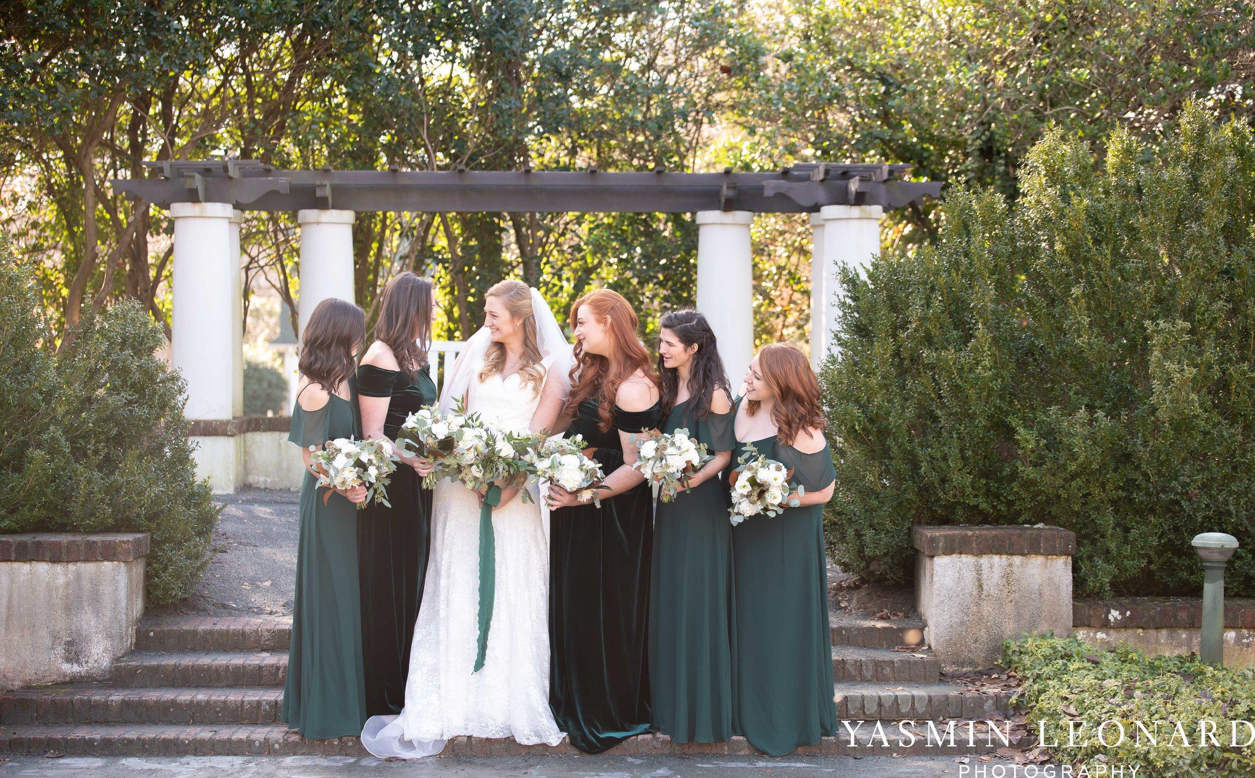 Barn at Reynolda Village - Winston Salem Wedding - White and Green Wedding - NC Wedding - NC Barns - Yasmin Leonard Photography-35.jpg