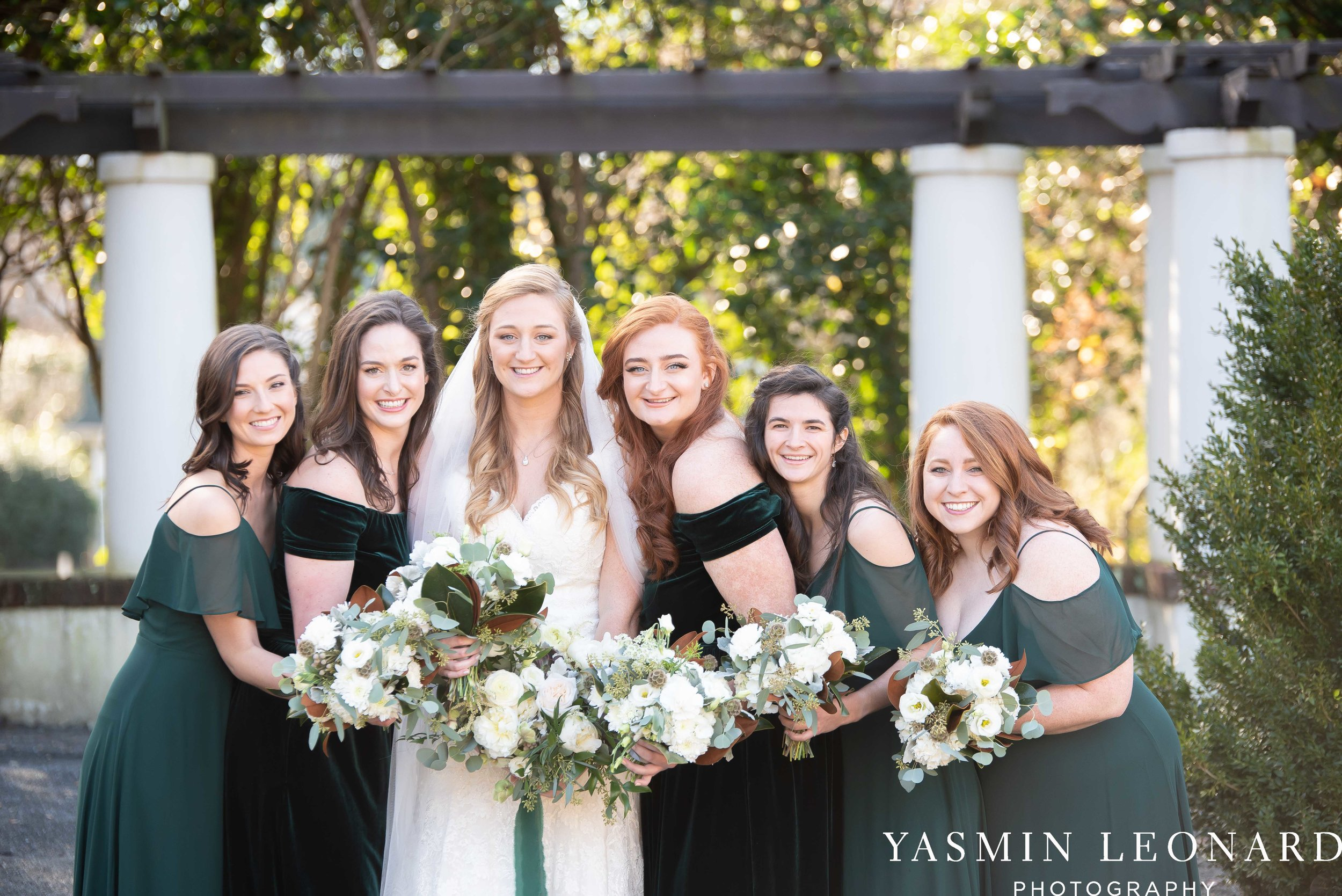 Barn at Reynolda Village - Winston Salem Wedding - White and Green Wedding - NC Wedding - NC Barns - Yasmin Leonard Photography-36.jpg