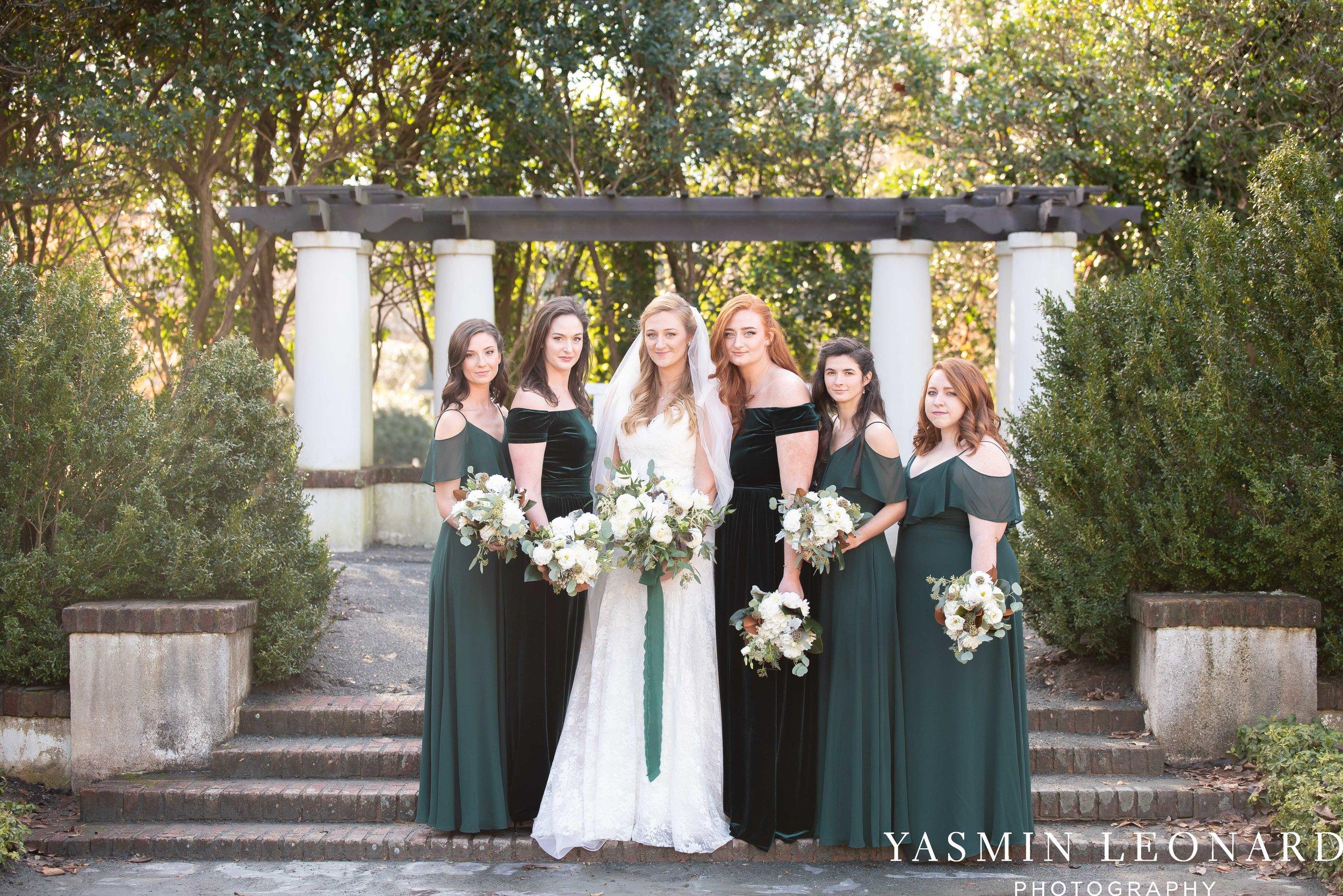 Barn at Reynolda Village - Winston Salem Wedding - White and Green Wedding - NC Wedding - NC Barns - Yasmin Leonard Photography-37.jpg