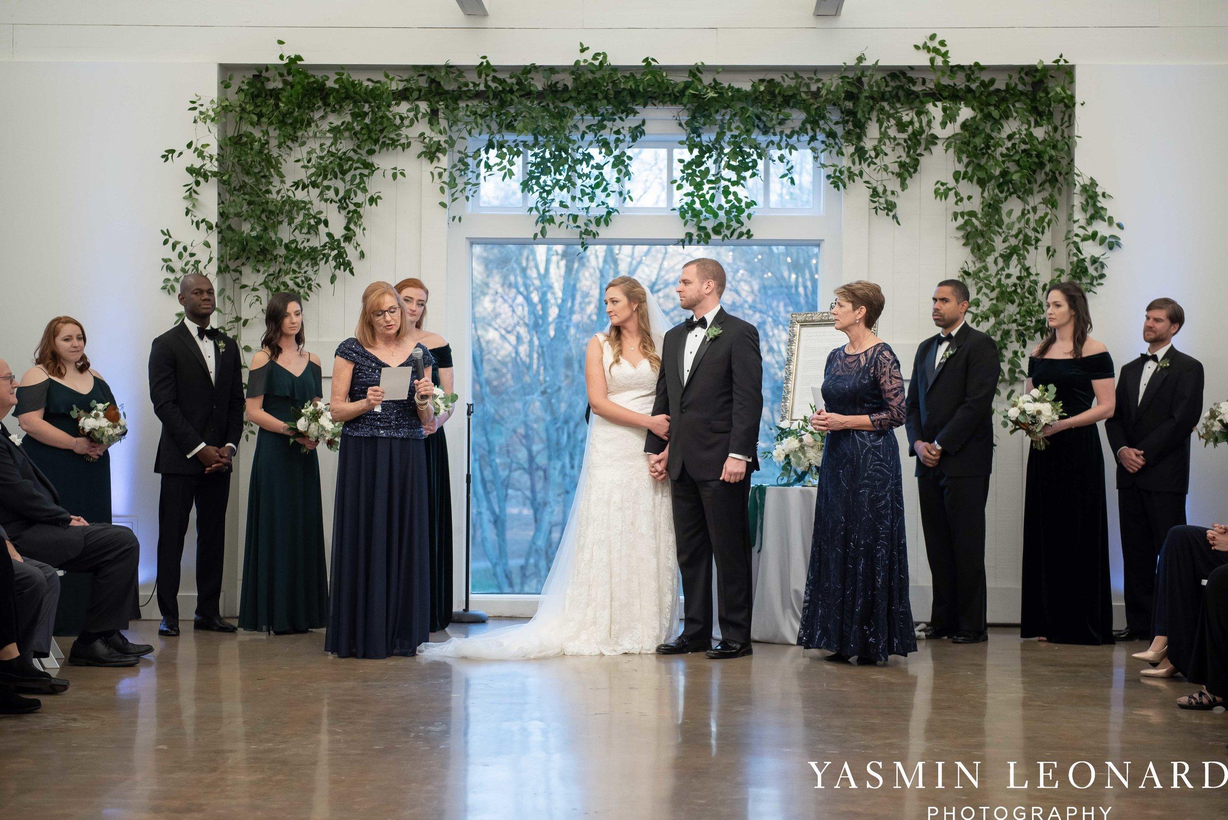 Barn at Reynolda Village - Winston Salem Wedding - White and Green Wedding - NC Wedding - NC Barns - Yasmin Leonard Photography-60.jpg