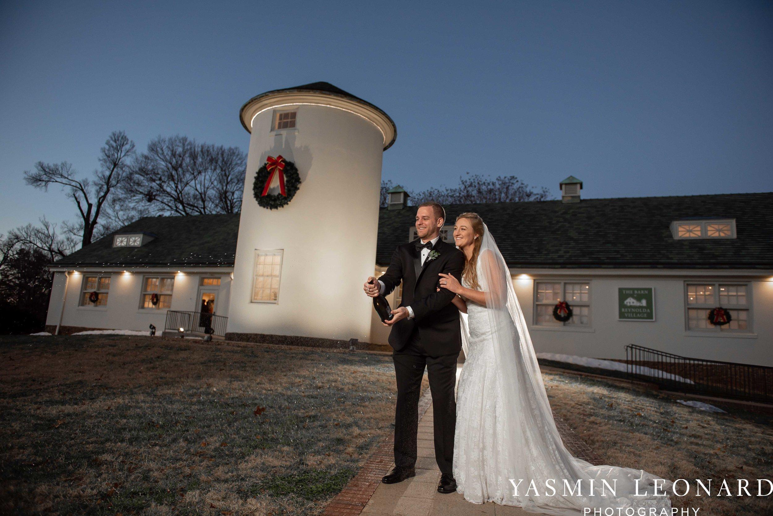 Barn at Reynolda Village - Winston Salem Wedding - White and Green Wedding - NC Wedding - NC Barns - Yasmin Leonard Photography-68.jpg