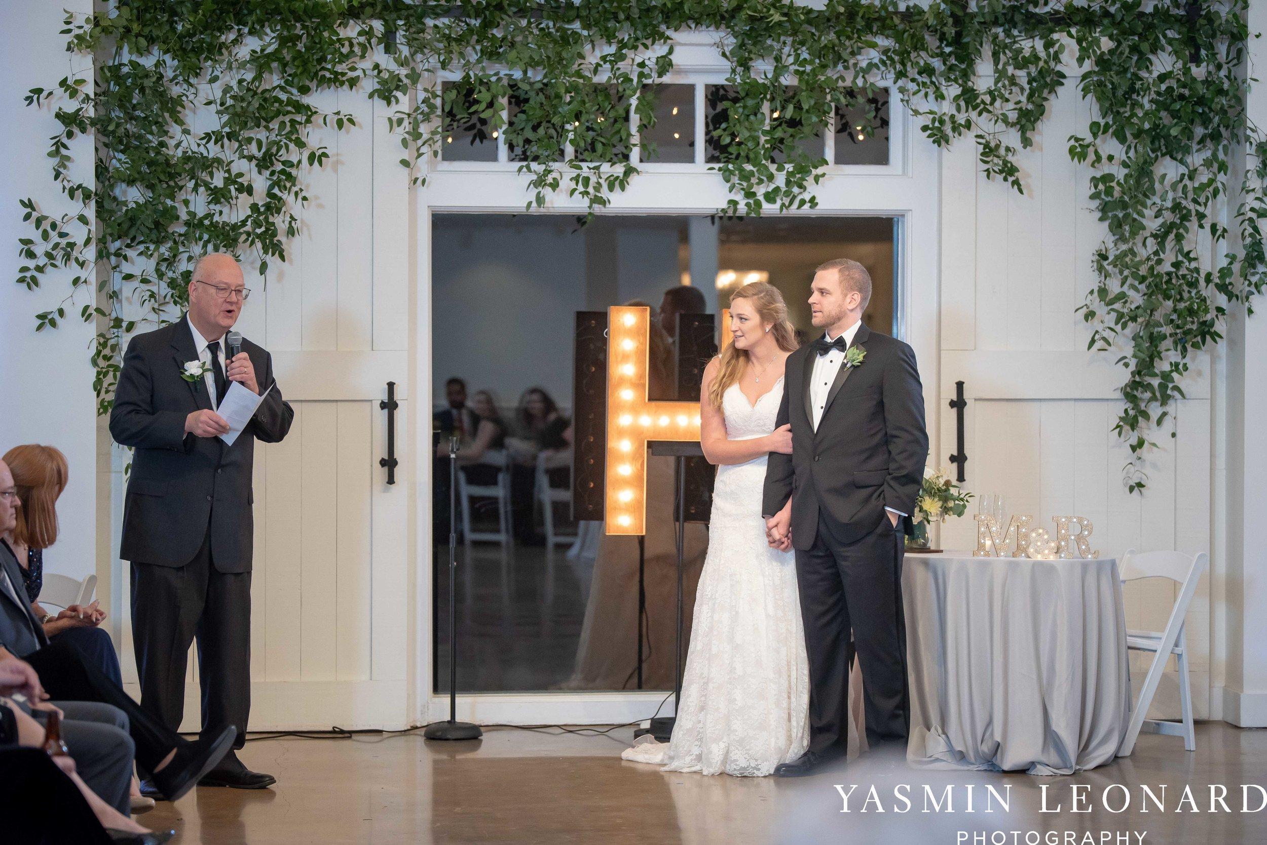 Barn at Reynolda Village - Winston Salem Wedding - White and Green Wedding - NC Wedding - NC Barns - Yasmin Leonard Photography-72.jpg
