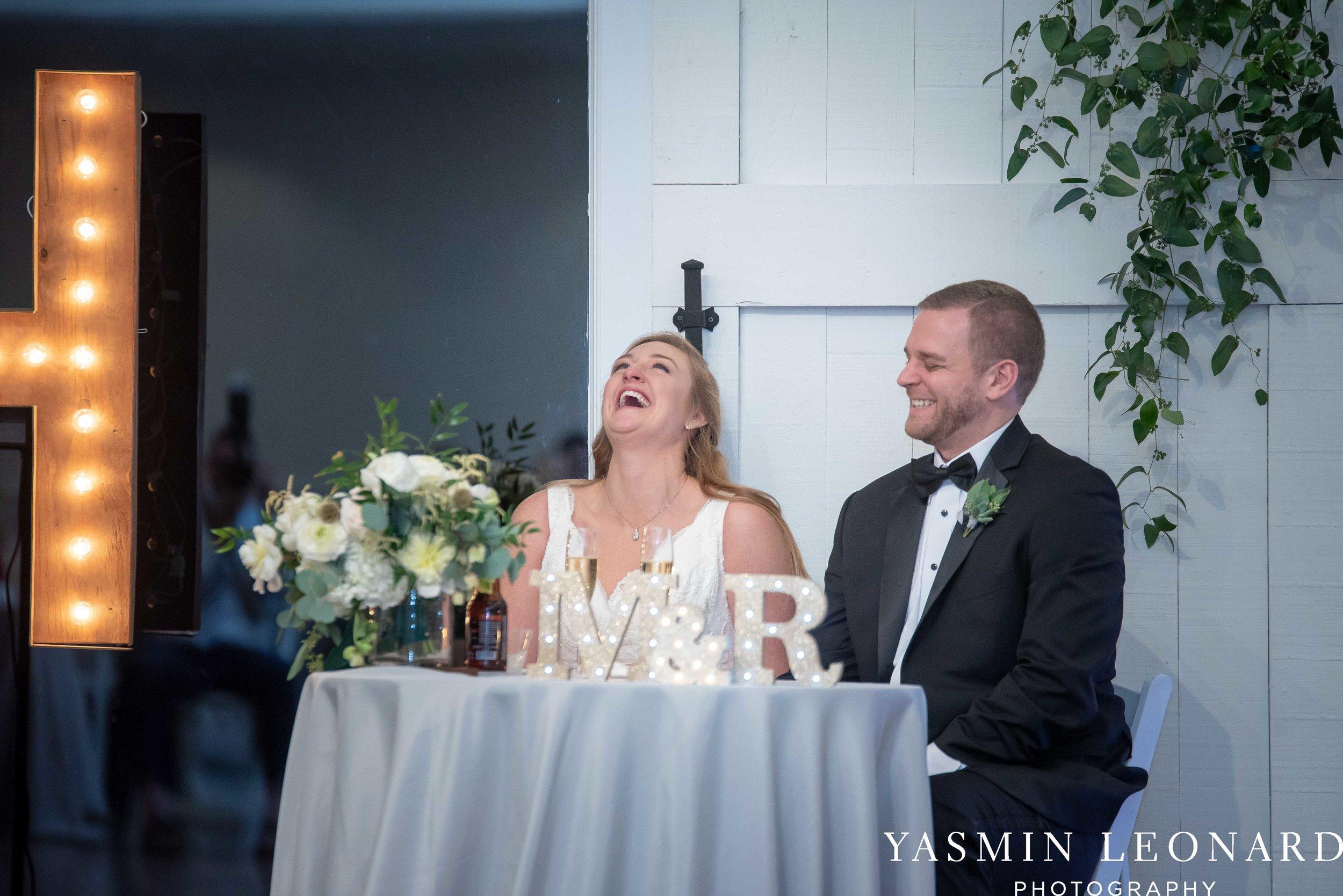 Barn at Reynolda Village - Winston Salem Wedding - White and Green Wedding - NC Wedding - NC Barns - Yasmin Leonard Photography-77.jpg