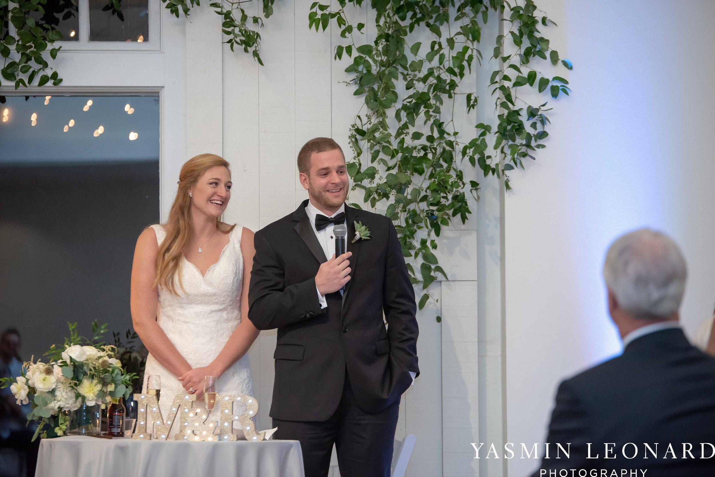 Barn at Reynolda Village - Winston Salem Wedding - White and Green Wedding - NC Wedding - NC Barns - Yasmin Leonard Photography-85.jpg