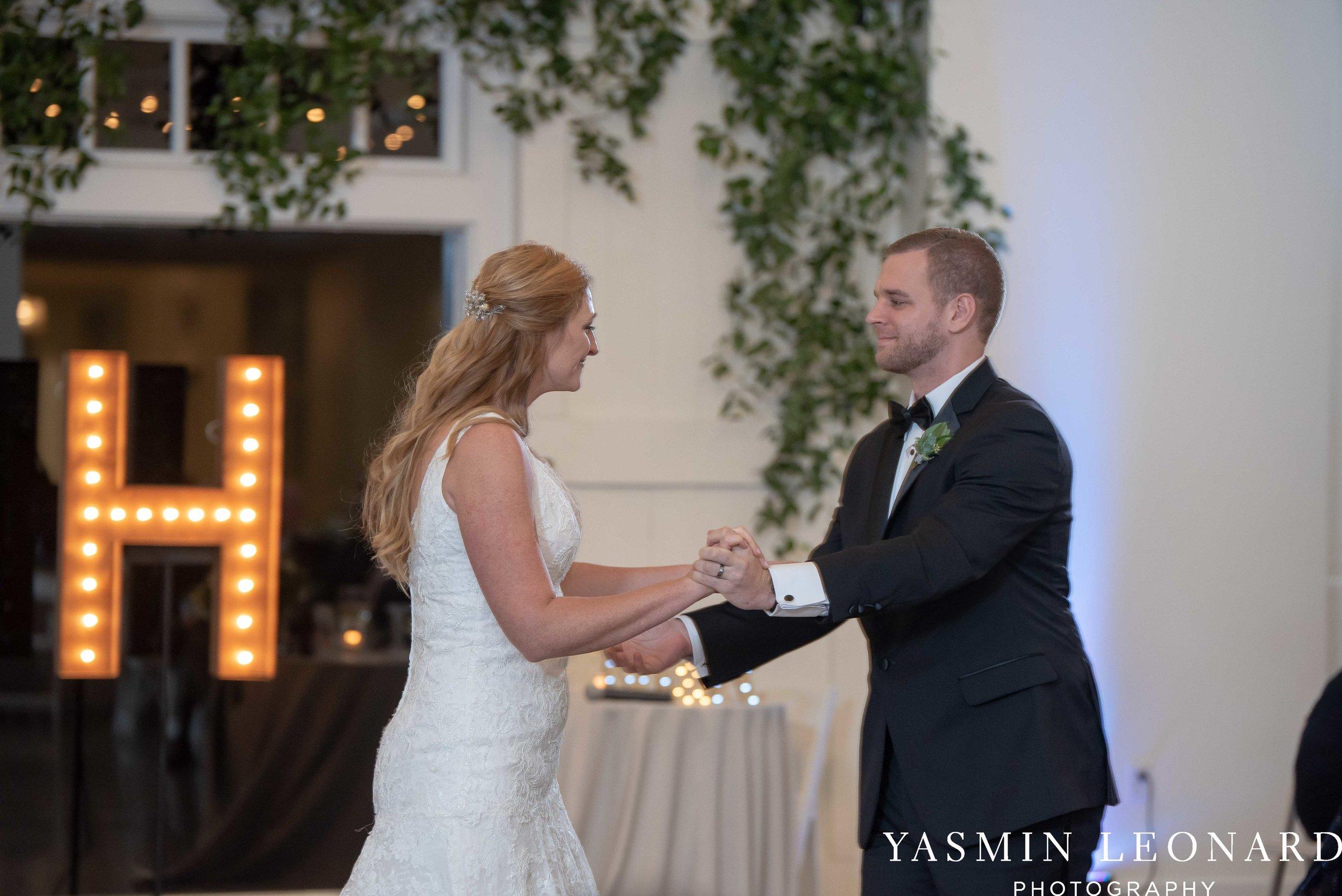Barn at Reynolda Village - Winston Salem Wedding - White and Green Wedding - NC Wedding - NC Barns - Yasmin Leonard Photography-87.jpg