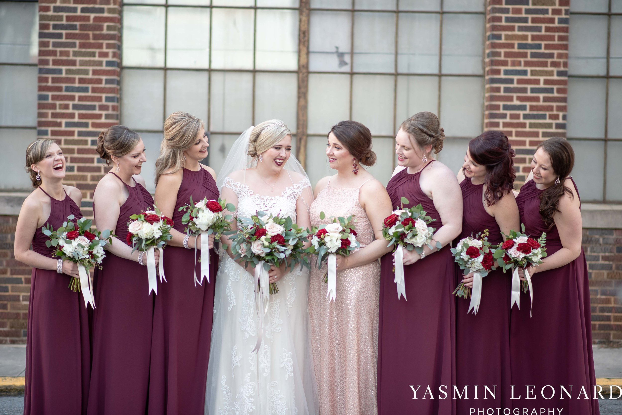 Rebekah and Matt - 105 Worth Event Centre - Yasmin Leonard Photography - Asheboro Wedding - NC Wedding - High Point Weddings - Triad Weddings - Winter Wedding-7.jpg