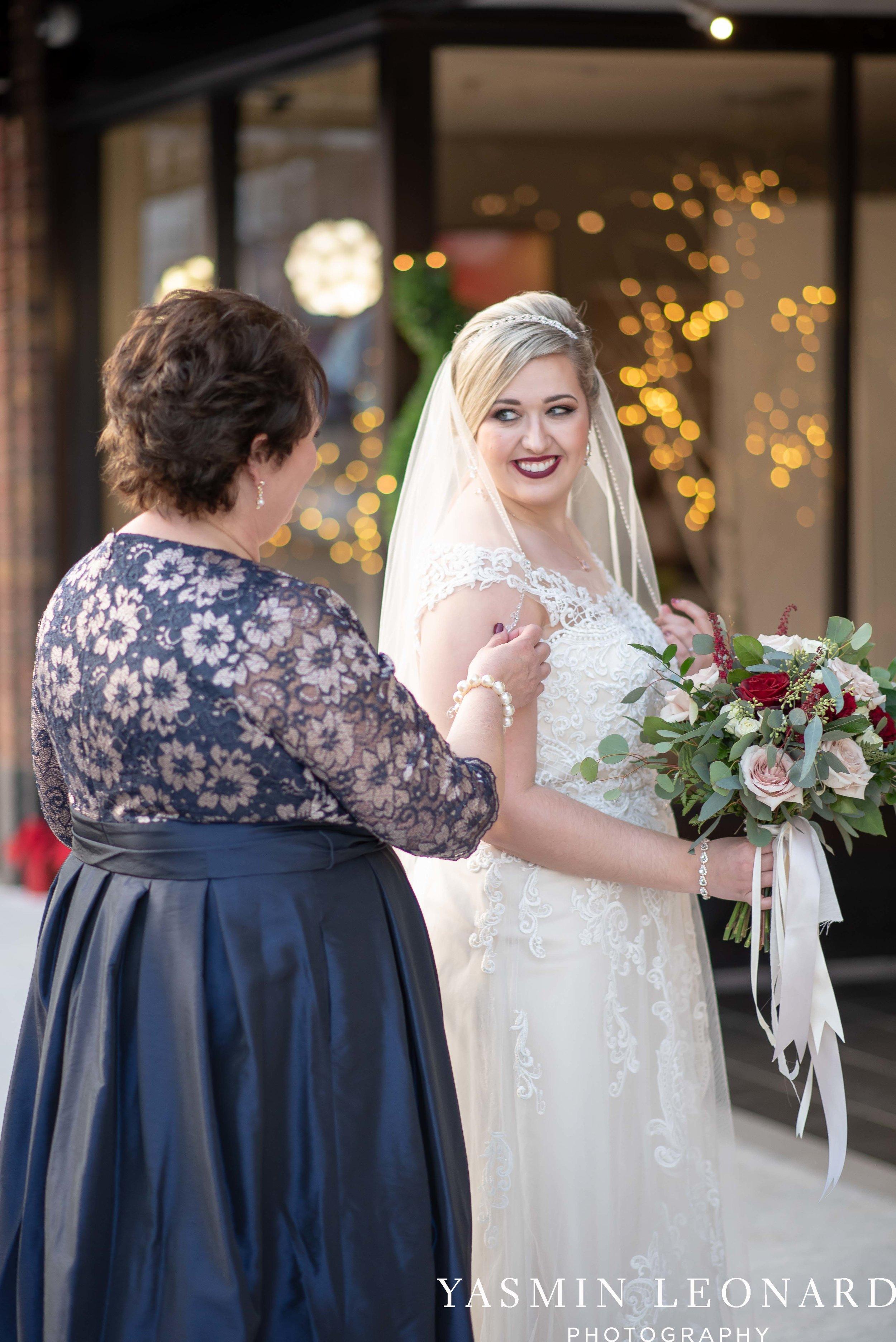 Rebekah and Matt - 105 Worth Event Centre - Yasmin Leonard Photography - Asheboro Wedding - NC Wedding - High Point Weddings - Triad Weddings - Winter Wedding-19.jpg