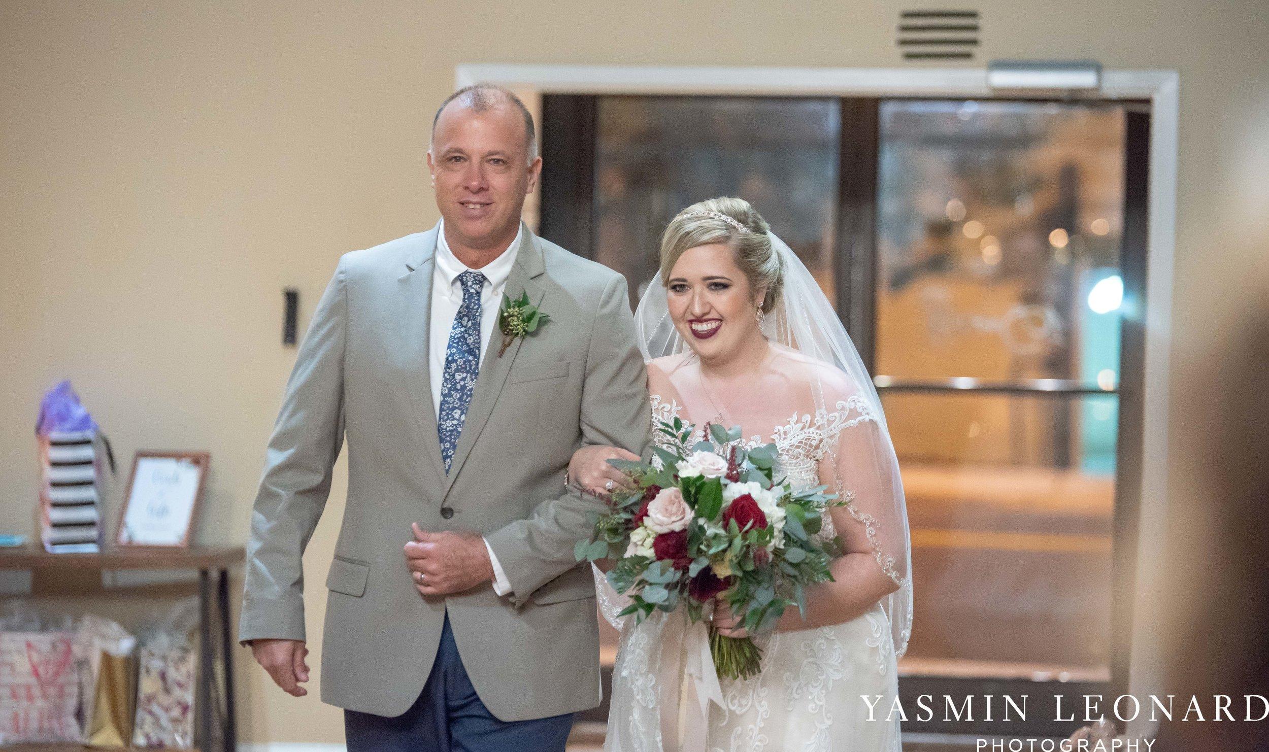 Rebekah and Matt - 105 Worth Event Centre - Yasmin Leonard Photography - Asheboro Wedding - NC Wedding - High Point Weddings - Triad Weddings - Winter Wedding-23.jpg