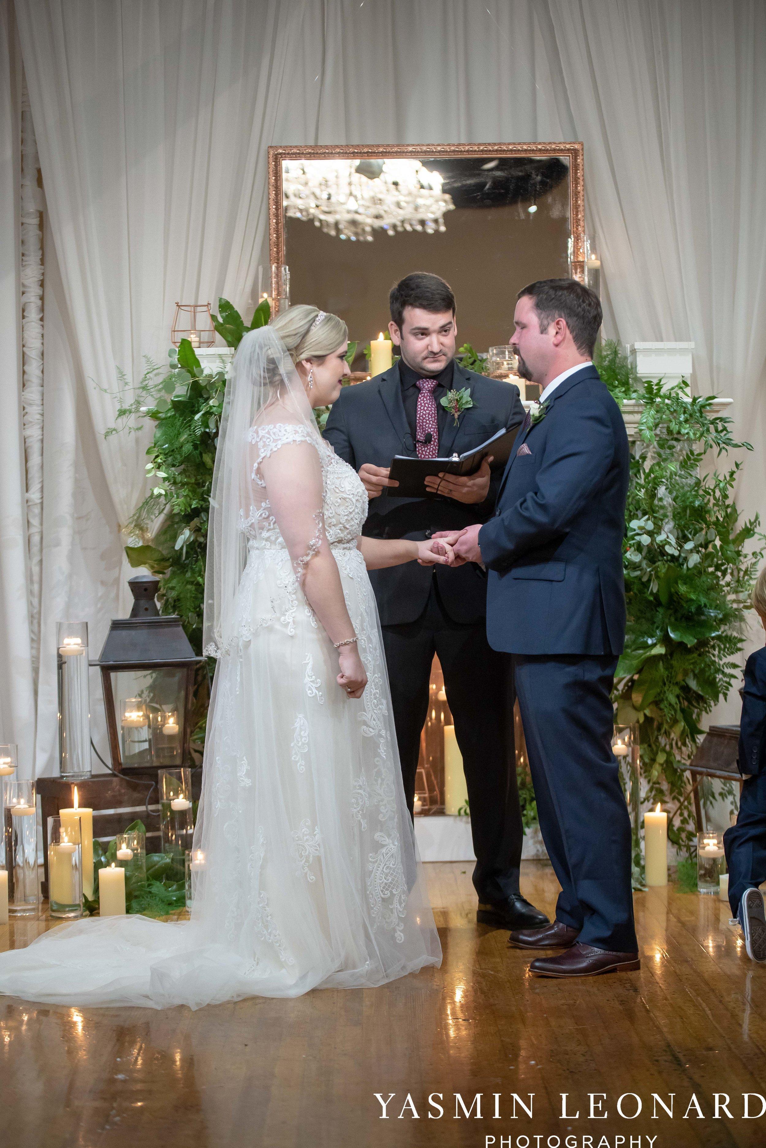 Rebekah and Matt - 105 Worth Event Centre - Yasmin Leonard Photography - Asheboro Wedding - NC Wedding - High Point Weddings - Triad Weddings - Winter Wedding-26.jpg