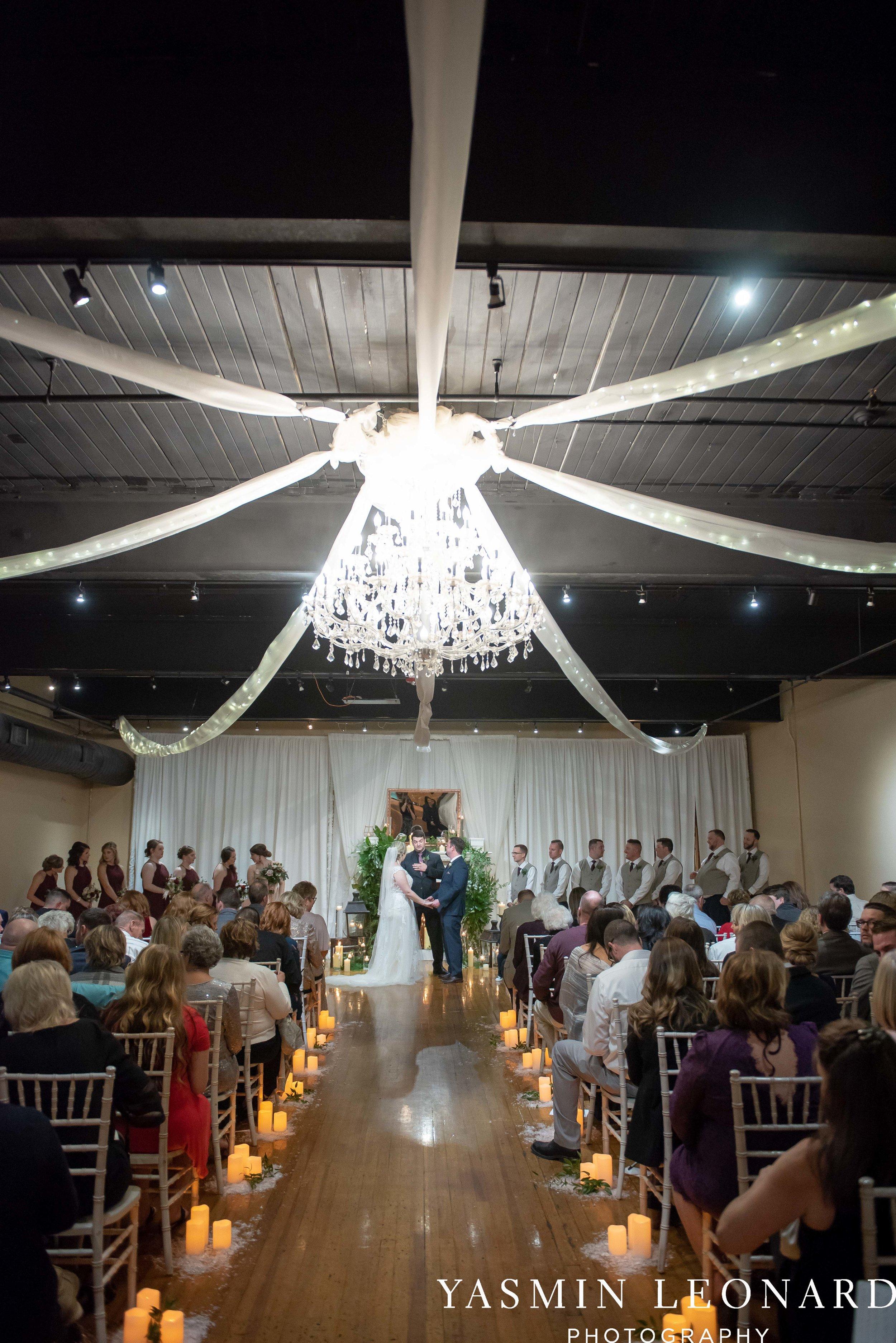 Rebekah and Matt - 105 Worth Event Centre - Yasmin Leonard Photography - Asheboro Wedding - NC Wedding - High Point Weddings - Triad Weddings - Winter Wedding-27.jpg