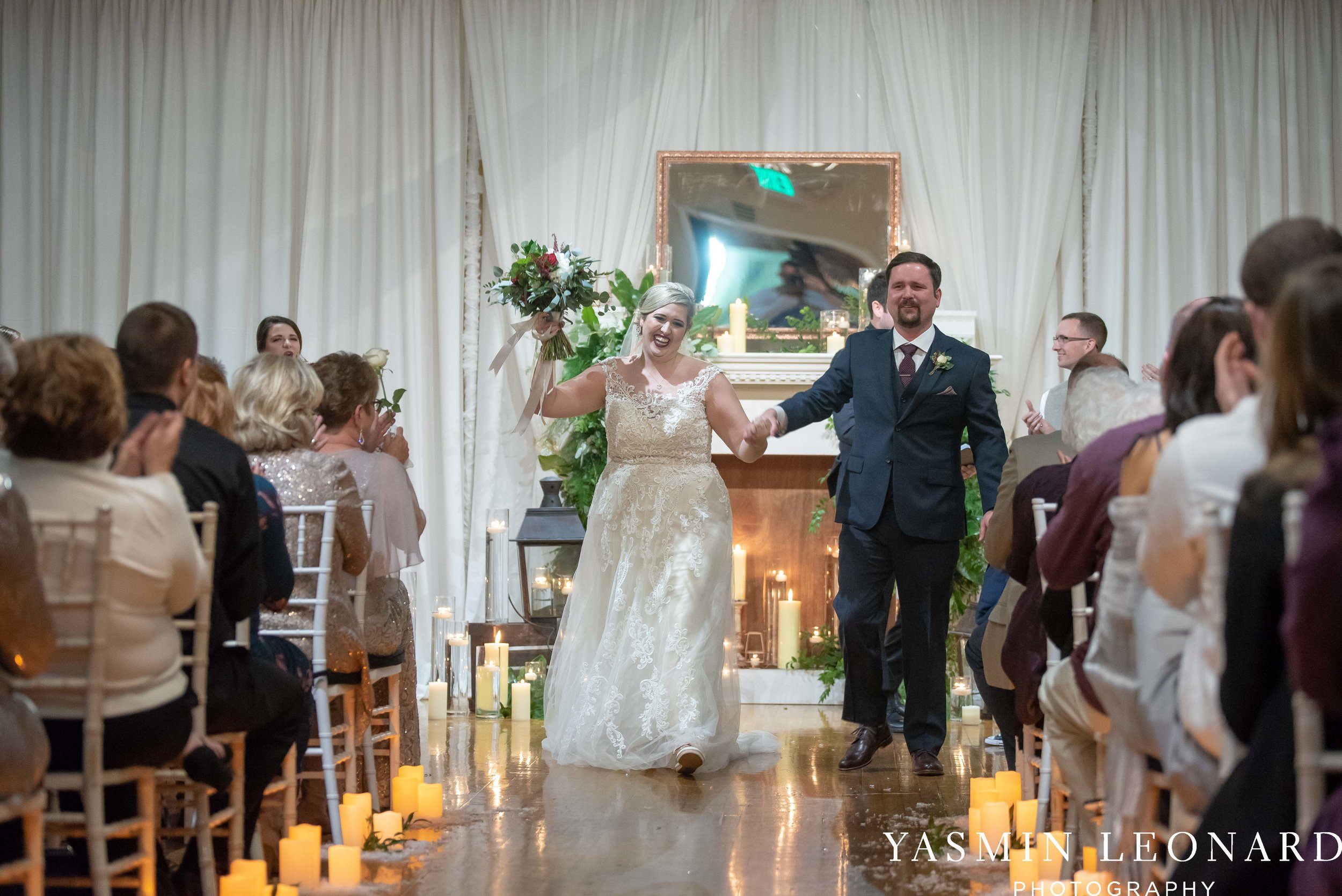 Rebekah and Matt - 105 Worth Event Centre - Yasmin Leonard Photography - Asheboro Wedding - NC Wedding - High Point Weddings - Triad Weddings - Winter Wedding-31.jpg
