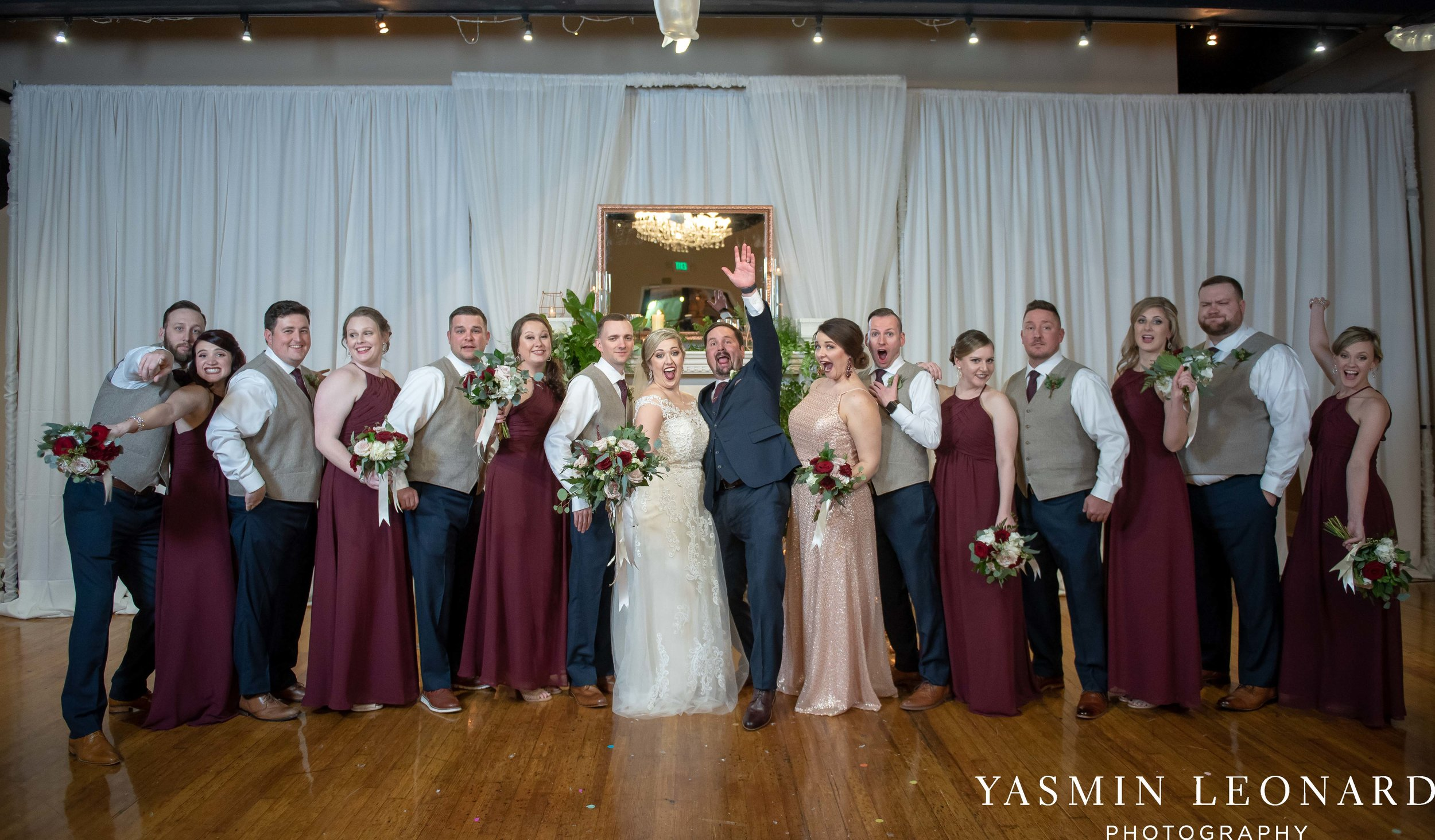 Rebekah and Matt - 105 Worth Event Centre - Yasmin Leonard Photography - Asheboro Wedding - NC Wedding - High Point Weddings - Triad Weddings - Winter Wedding-33.jpg