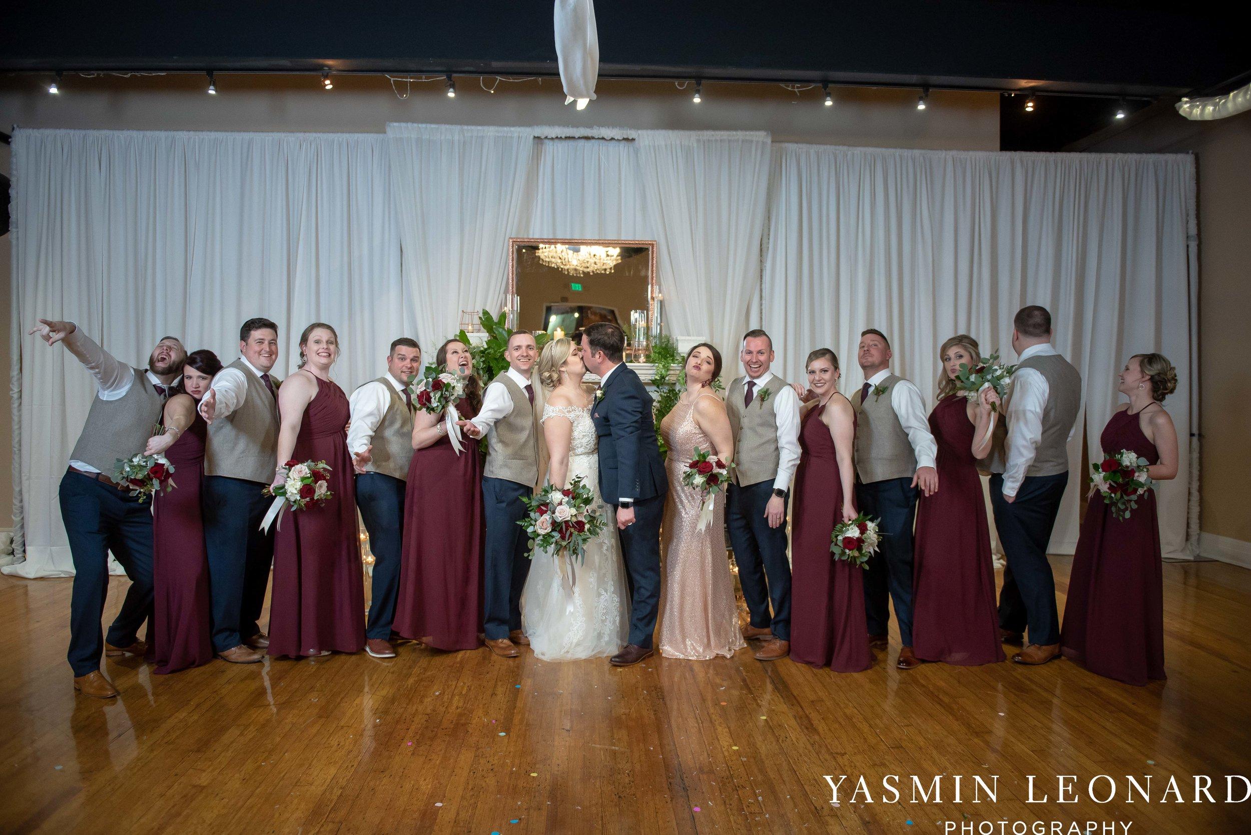 Rebekah and Matt - 105 Worth Event Centre - Yasmin Leonard Photography - Asheboro Wedding - NC Wedding - High Point Weddings - Triad Weddings - Winter Wedding-34.jpg