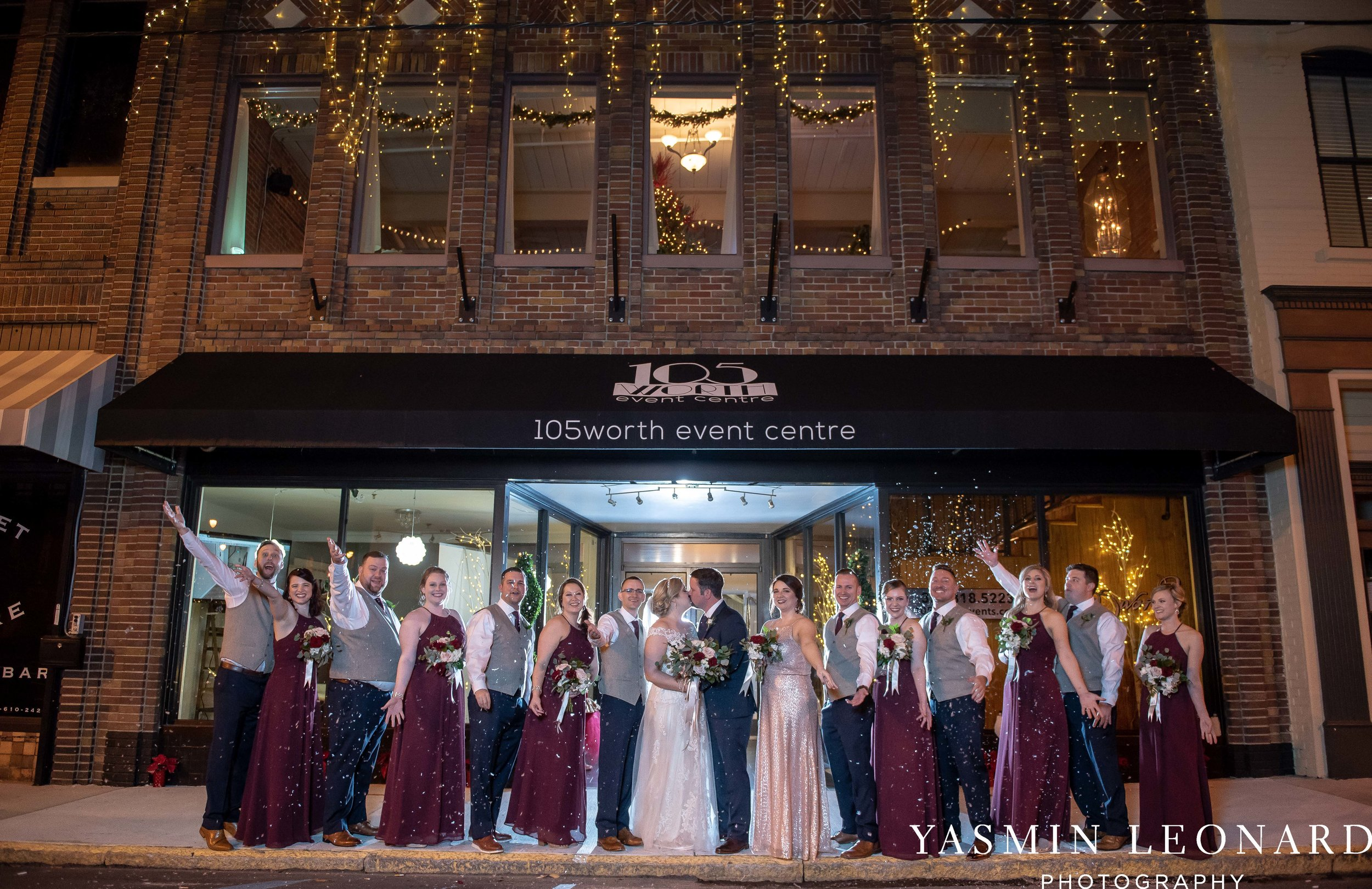 Rebekah and Matt - 105 Worth Event Centre - Yasmin Leonard Photography - Asheboro Wedding - NC Wedding - High Point Weddings - Triad Weddings - Winter Wedding-35.jpg