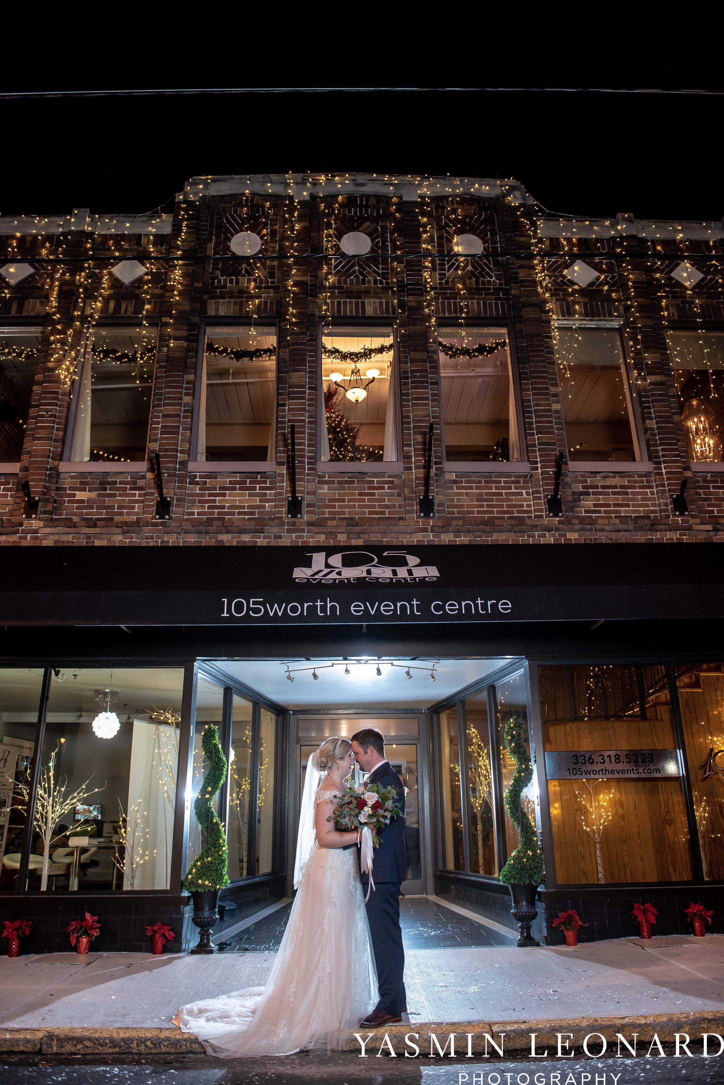Rebekah and Matt - 105 Worth Event Centre - Yasmin Leonard Photography - Asheboro Wedding - NC Wedding - High Point Weddings - Triad Weddings - Winter Wedding-38.jpg