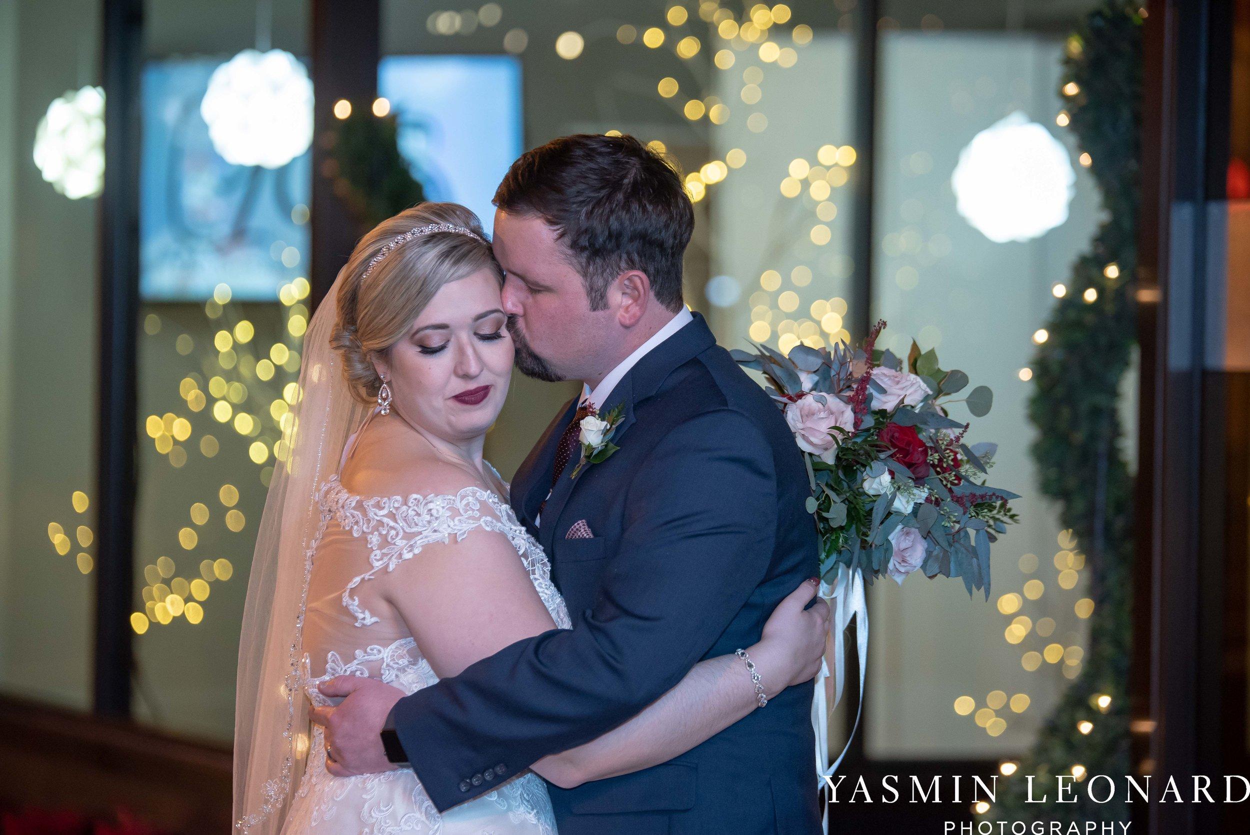 Rebekah and Matt - 105 Worth Event Centre - Yasmin Leonard Photography - Asheboro Wedding - NC Wedding - High Point Weddings - Triad Weddings - Winter Wedding-39.jpg