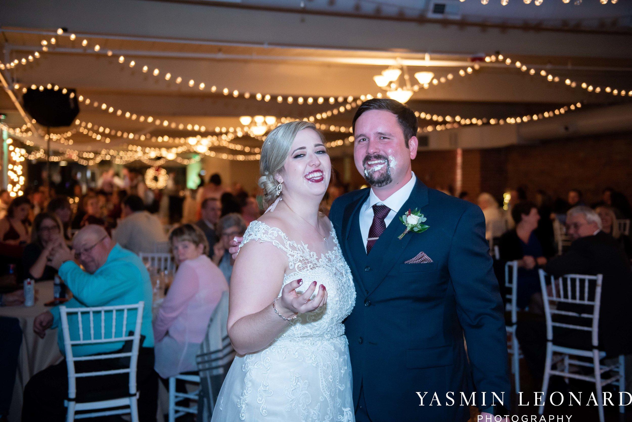 Rebekah and Matt - 105 Worth Event Centre - Yasmin Leonard Photography - Asheboro Wedding - NC Wedding - High Point Weddings - Triad Weddings - Winter Wedding-60.jpg