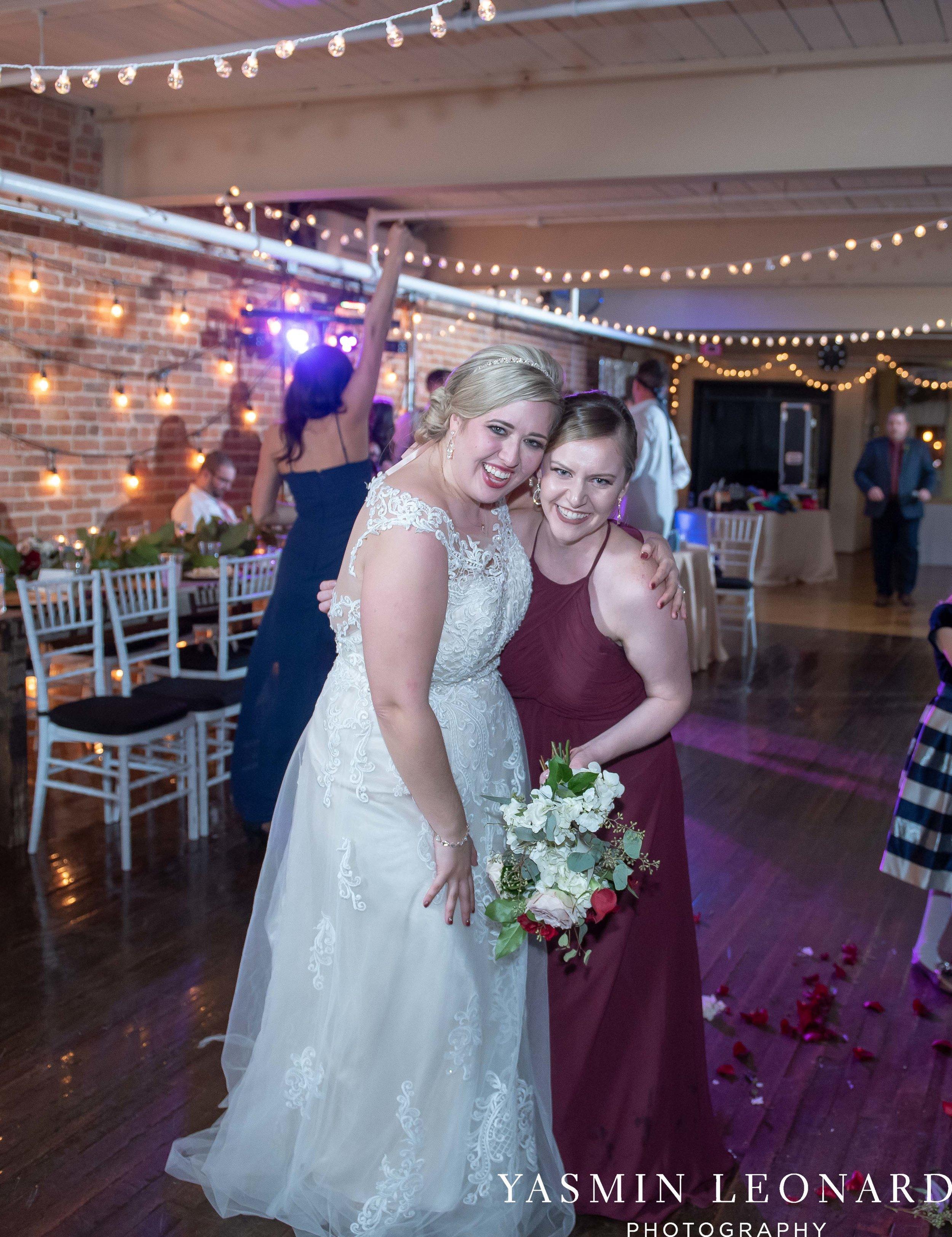Rebekah and Matt - 105 Worth Event Centre - Yasmin Leonard Photography - Asheboro Wedding - NC Wedding - High Point Weddings - Triad Weddings - Winter Wedding-69.jpg