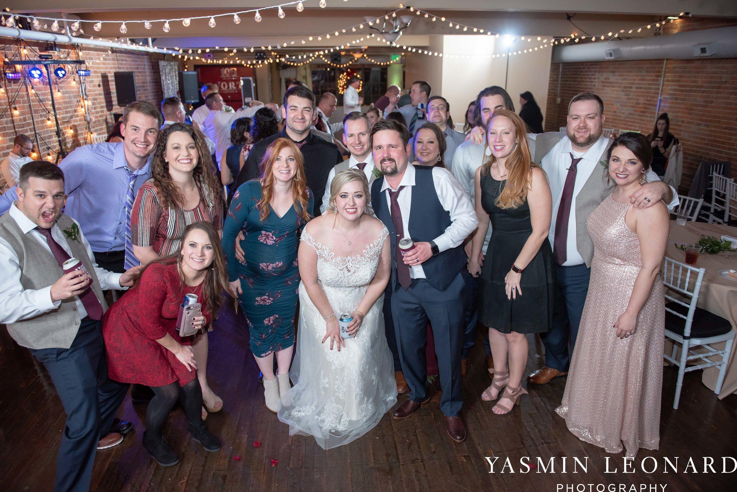 Rebekah and Matt - 105 Worth Event Centre - Yasmin Leonard Photography - Asheboro Wedding - NC Wedding - High Point Weddings - Triad Weddings - Winter Wedding-85.jpg