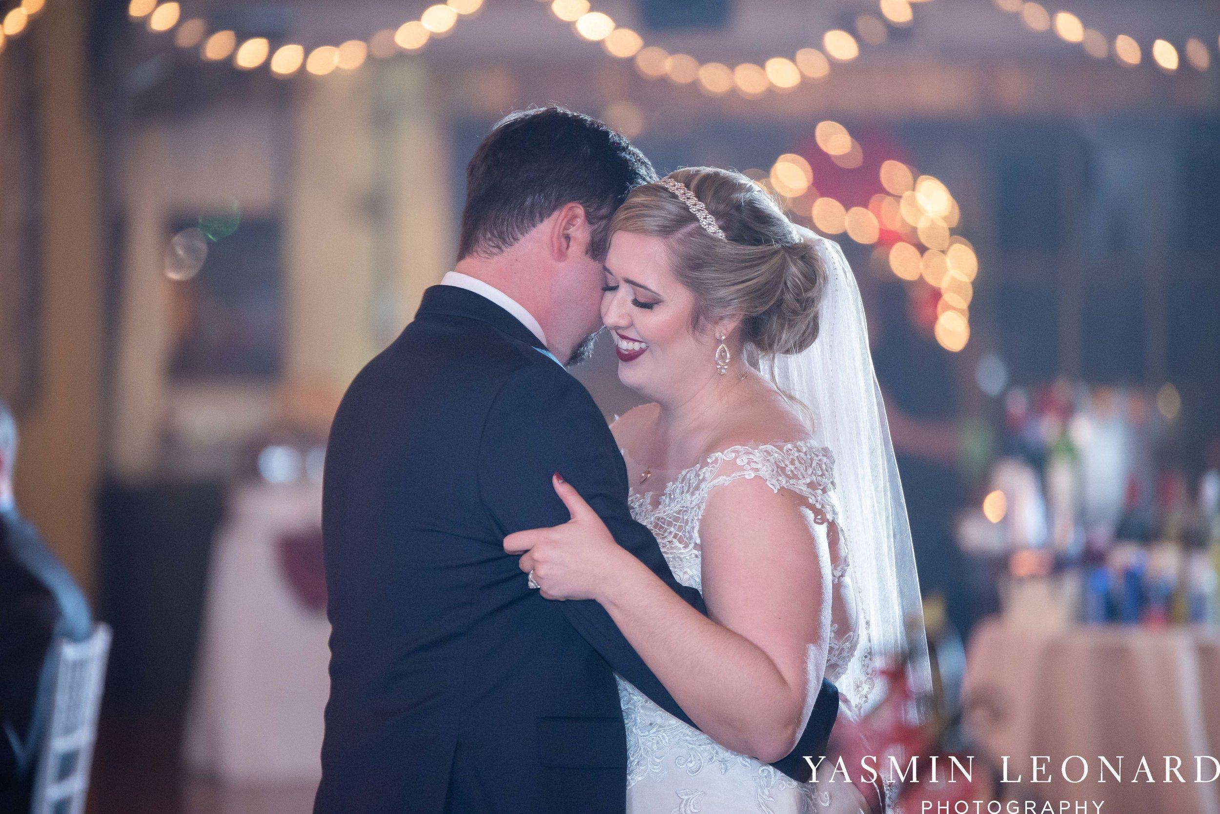 Rebekah and Matt - 105 Worth Event Centre - Yasmin Leonard Photography - Asheboro Wedding - NC Wedding - High Point Weddings - Triad Weddings - Winter Wedding-48.jpg