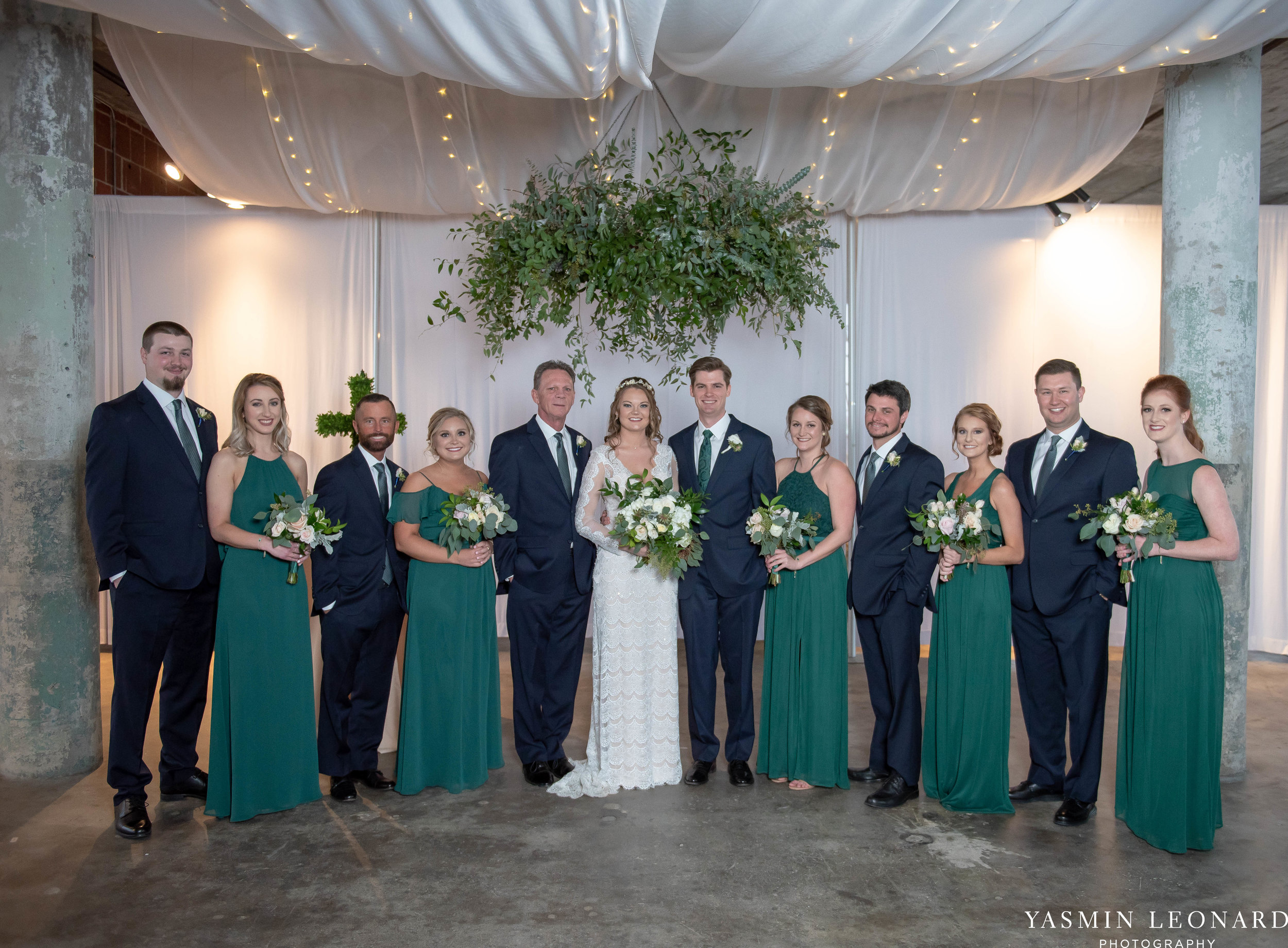 The Lofts at Union Square - Unions - High Point Weddings - NC Weddings - NC Wedding Photographer - Yasmin Leonard Photography - Just Priceless - Green Pink and Gold Wedding - Elegant Wedding-29.jpg