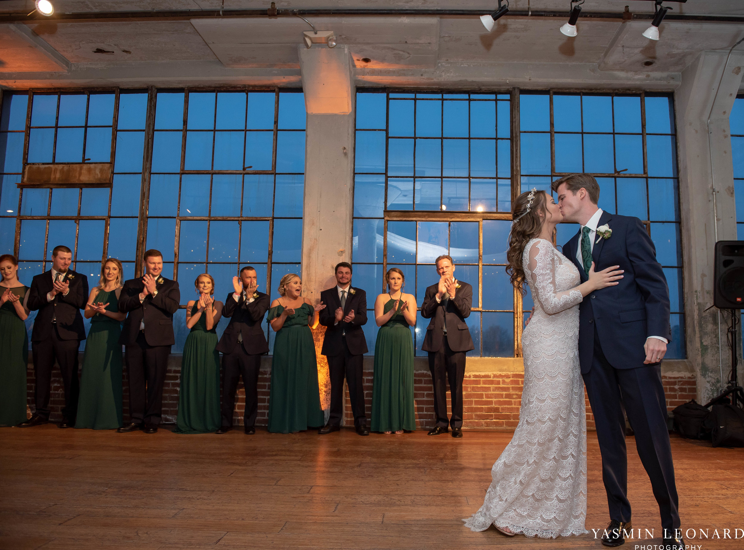 The Lofts at Union Square - Unions - High Point Weddings - NC Weddings - NC Wedding Photographer - Yasmin Leonard Photography - Just Priceless - Green Pink and Gold Wedding - Elegant Wedding-42.jpg