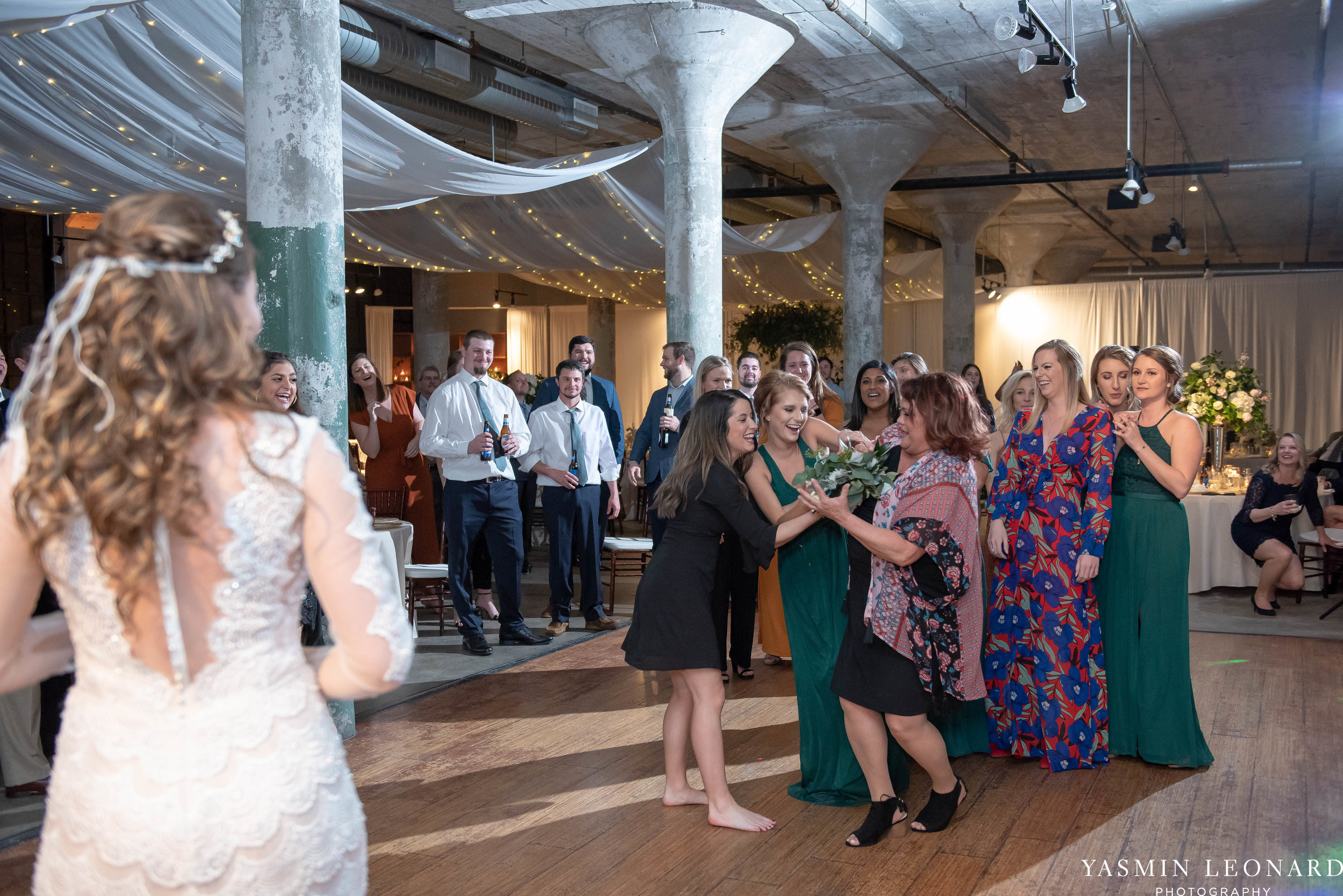 The Lofts at Union Square - Unions - High Point Weddings - NC Weddings - NC Wedding Photographer - Yasmin Leonard Photography - Just Priceless - Green Pink and Gold Wedding - Elegant Wedding-51.jpg