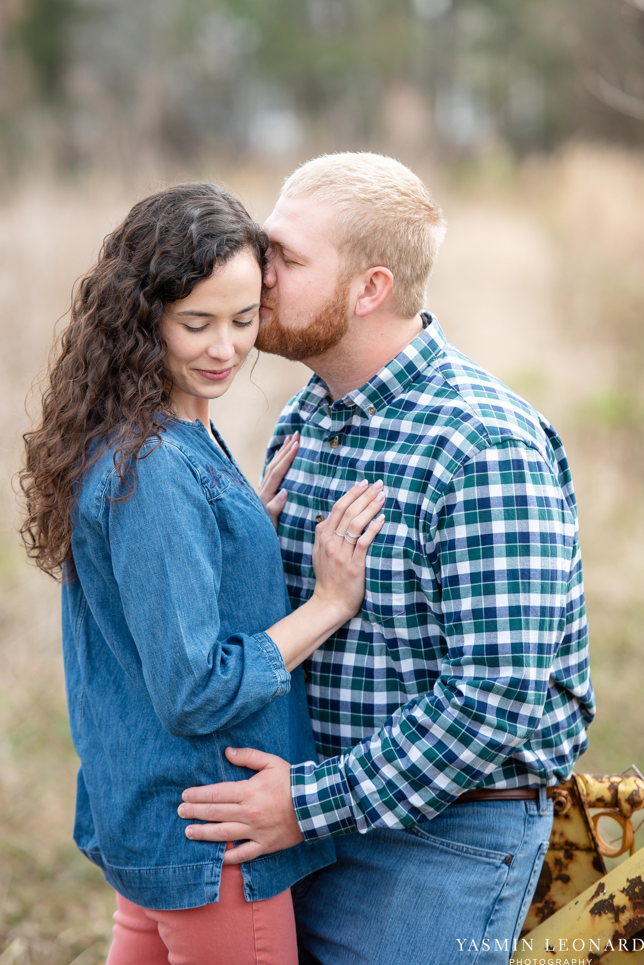 Wallburg Engagement Session - Country Engagement Session - High Point Engagement Session - Outdoor Engagement Session - Engagement Photos - Barn Engagement Photos - NC Photographer - High Point Photographer-1.jpg