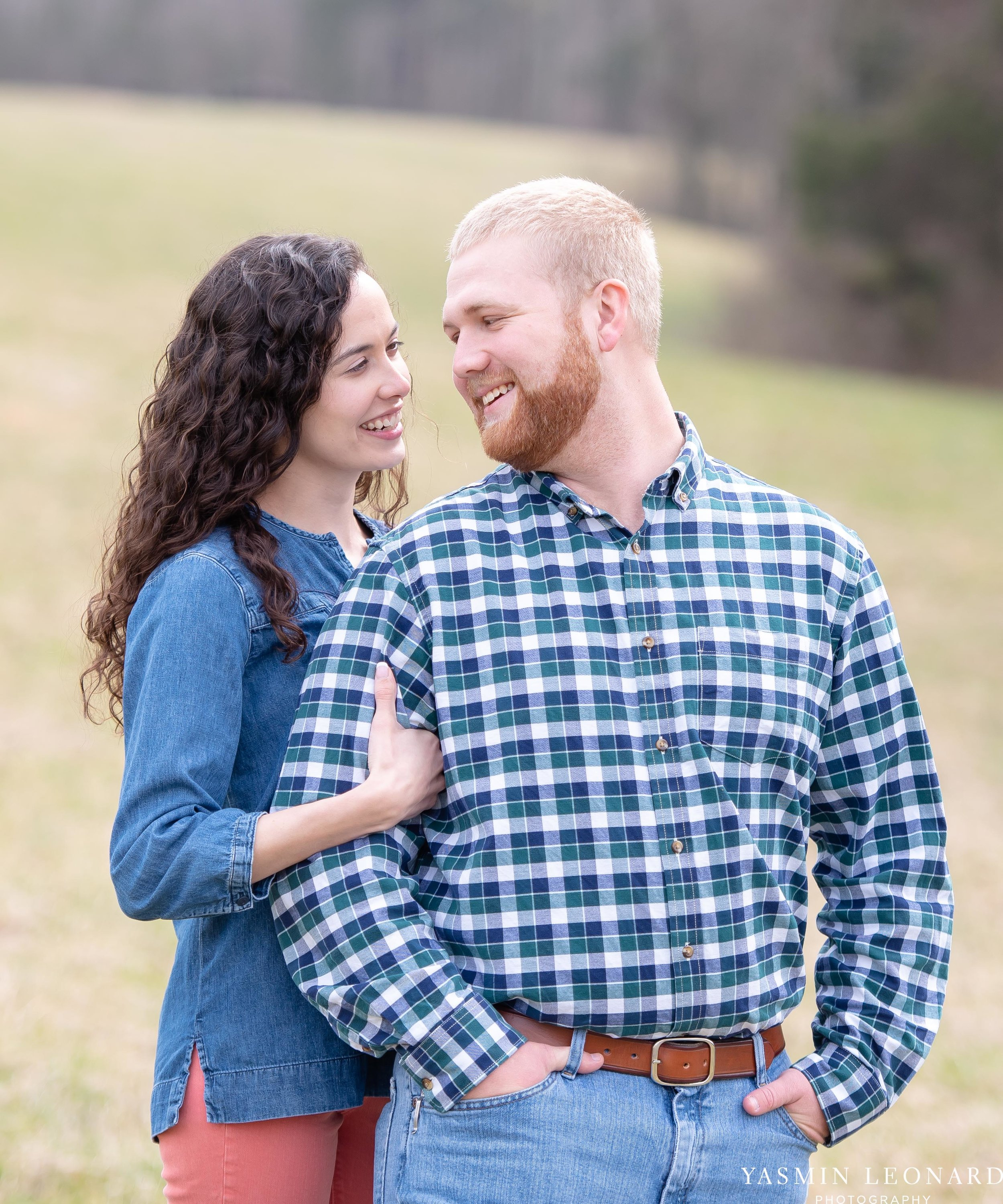 Wallburg Engagement Session - Country Engagement Session - High Point Engagement Session - Outdoor Engagement Session - Engagement Photos - Barn Engagement Photos - NC Photographer - High Point Photographer-3.jpg